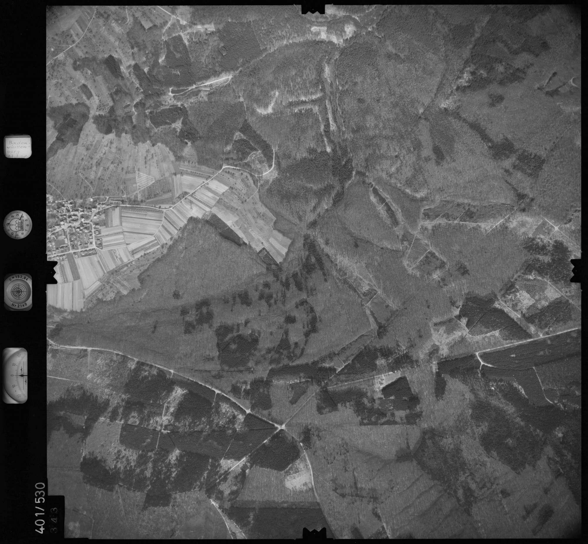 Luftbild: Film 10 Bildnr. 343, Bild 1