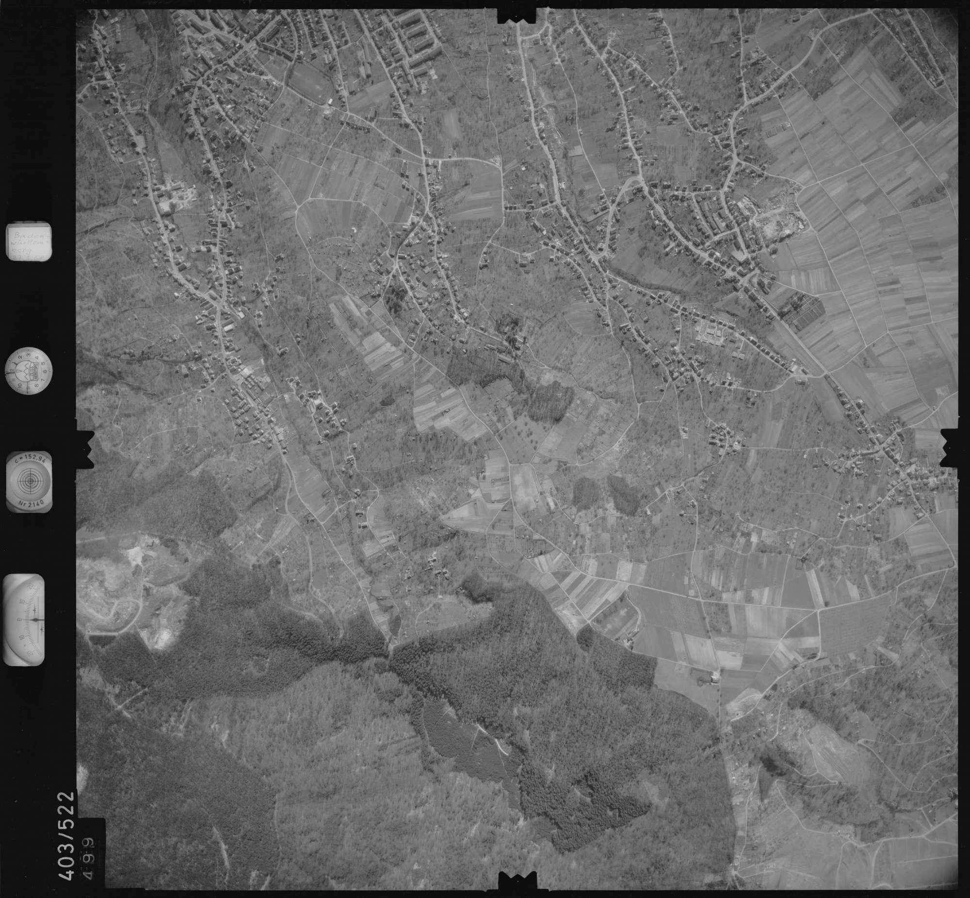 Luftbild: Film 10 Bildnr. 499, Bild 1