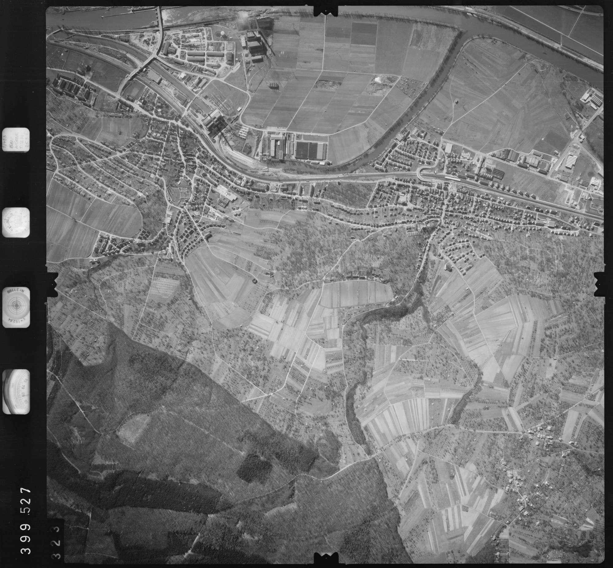 Luftbild: Film 13 Bildnr. 323, Bild 1