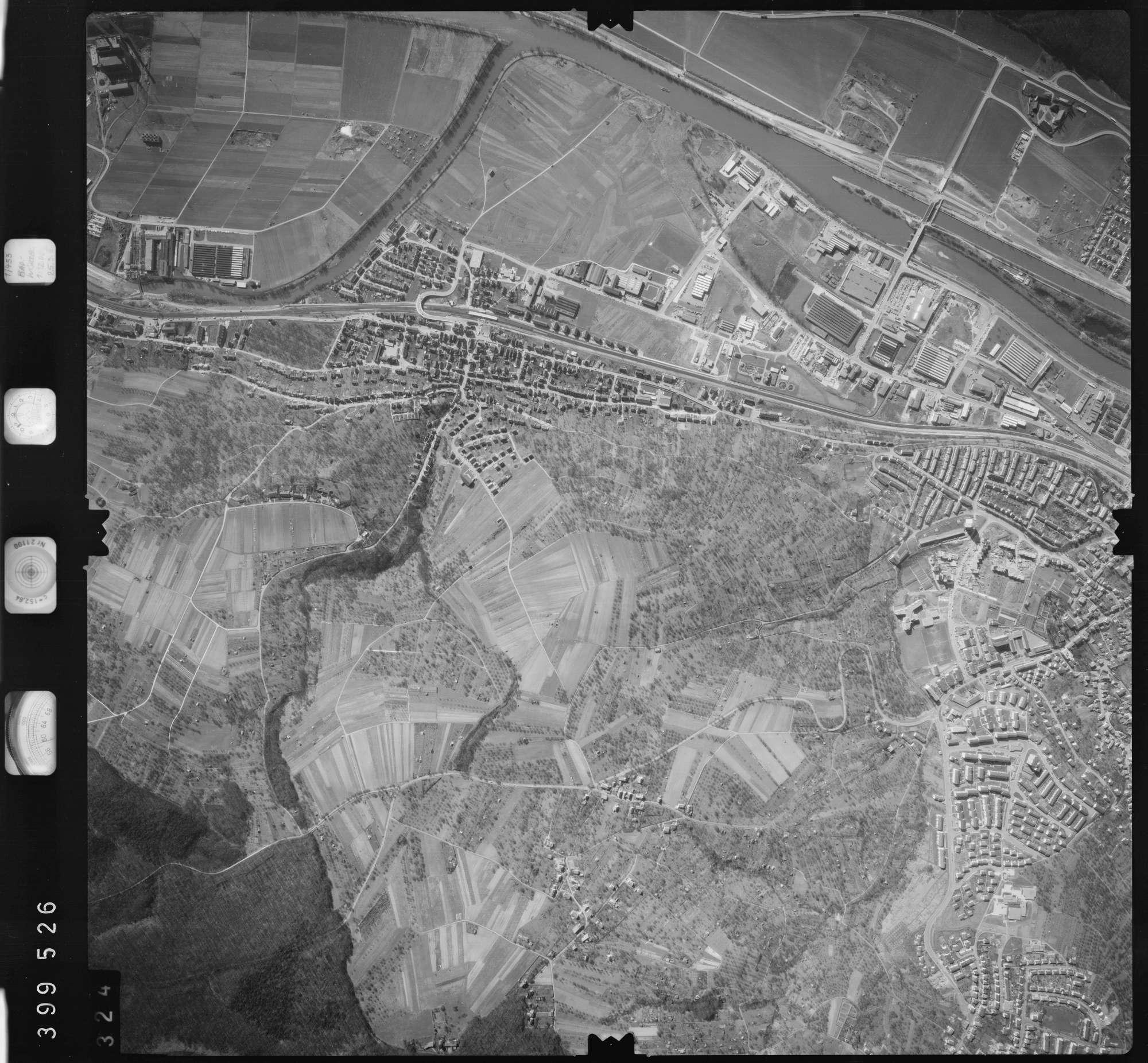 Luftbild: Film 13 Bildnr. 324, Bild 1