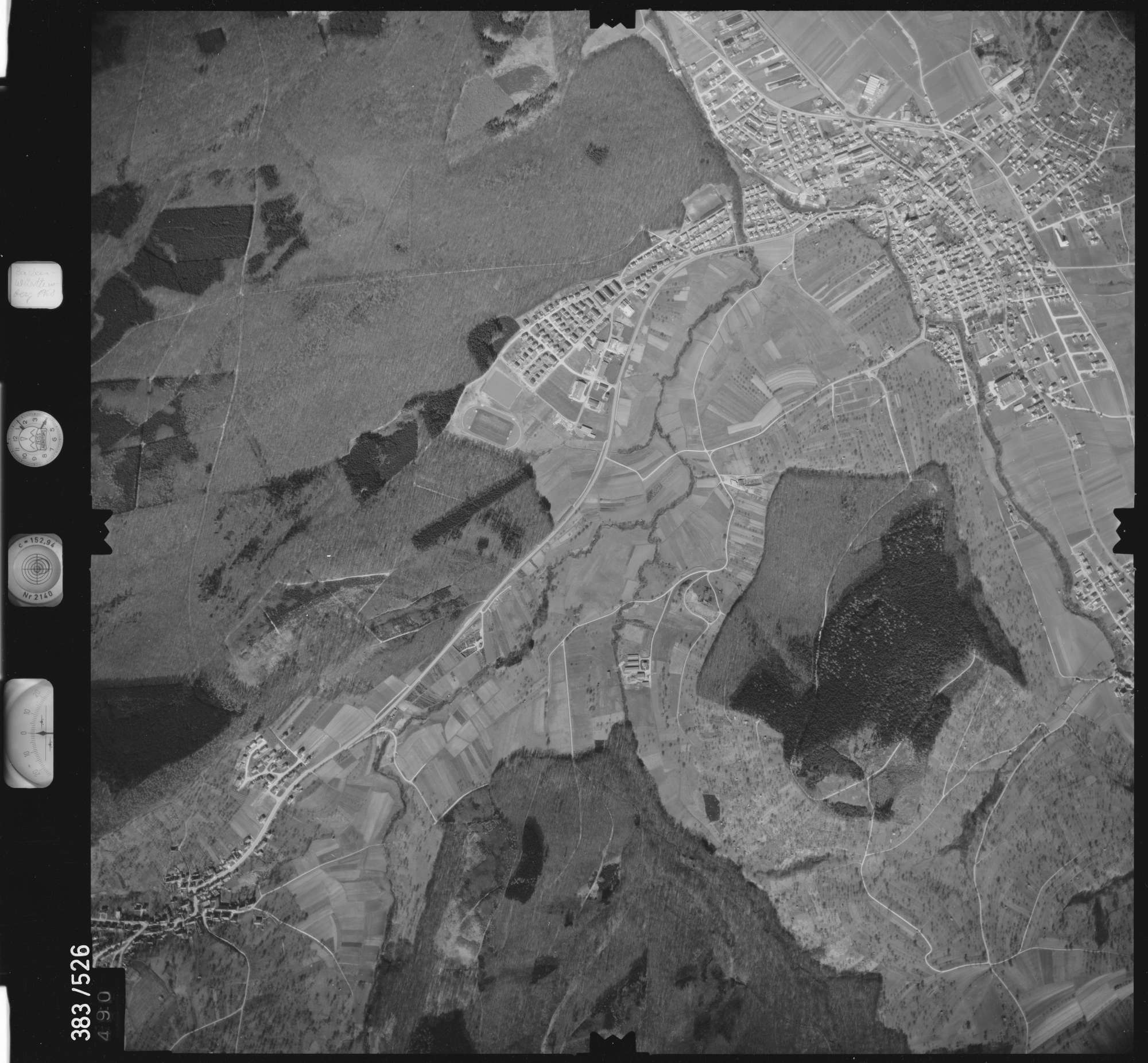Luftbild: Film 26 Bildnr. 490, Bild 1