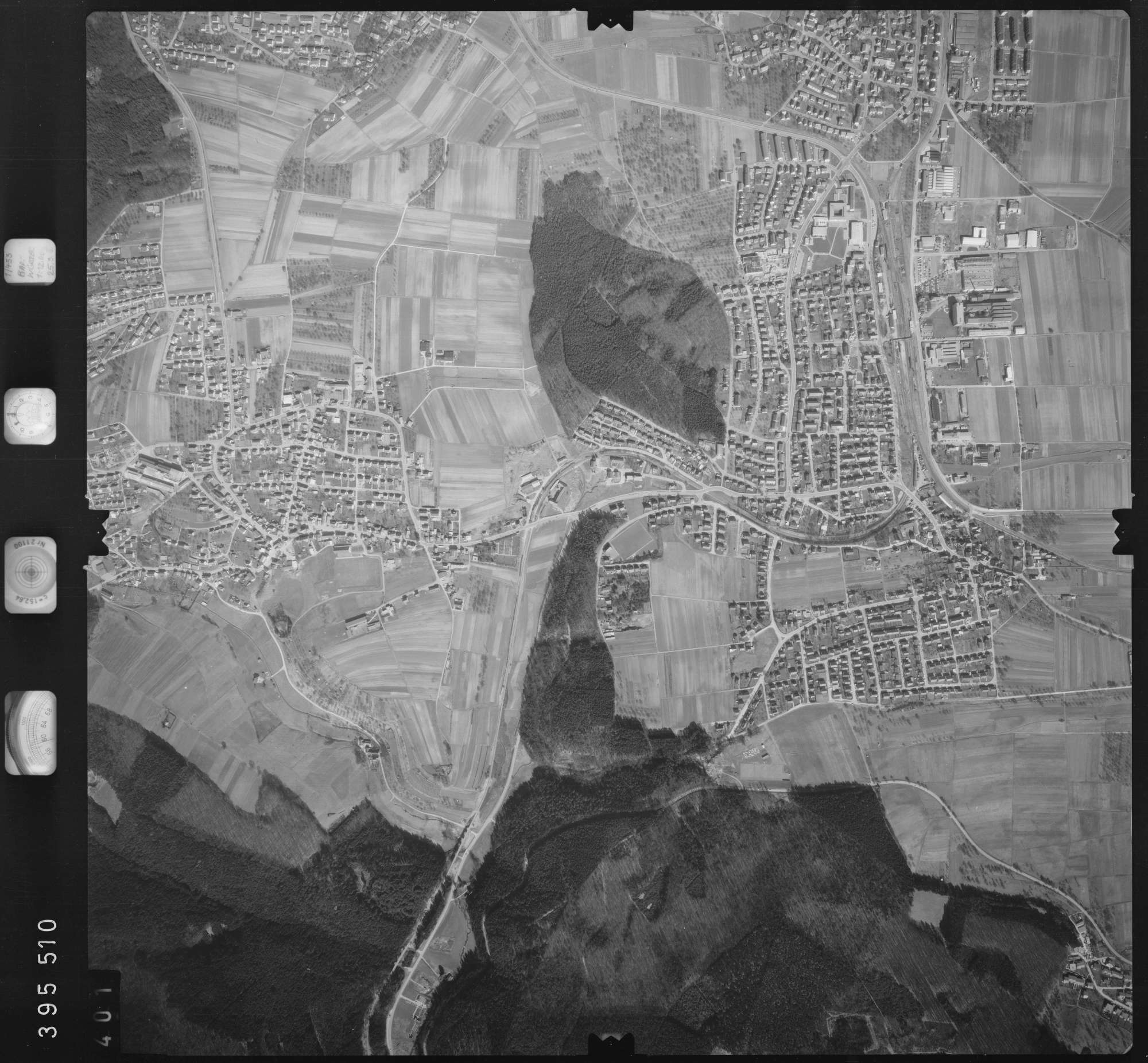 Luftbild: Film 13 Bildnr. 401, Bild 1