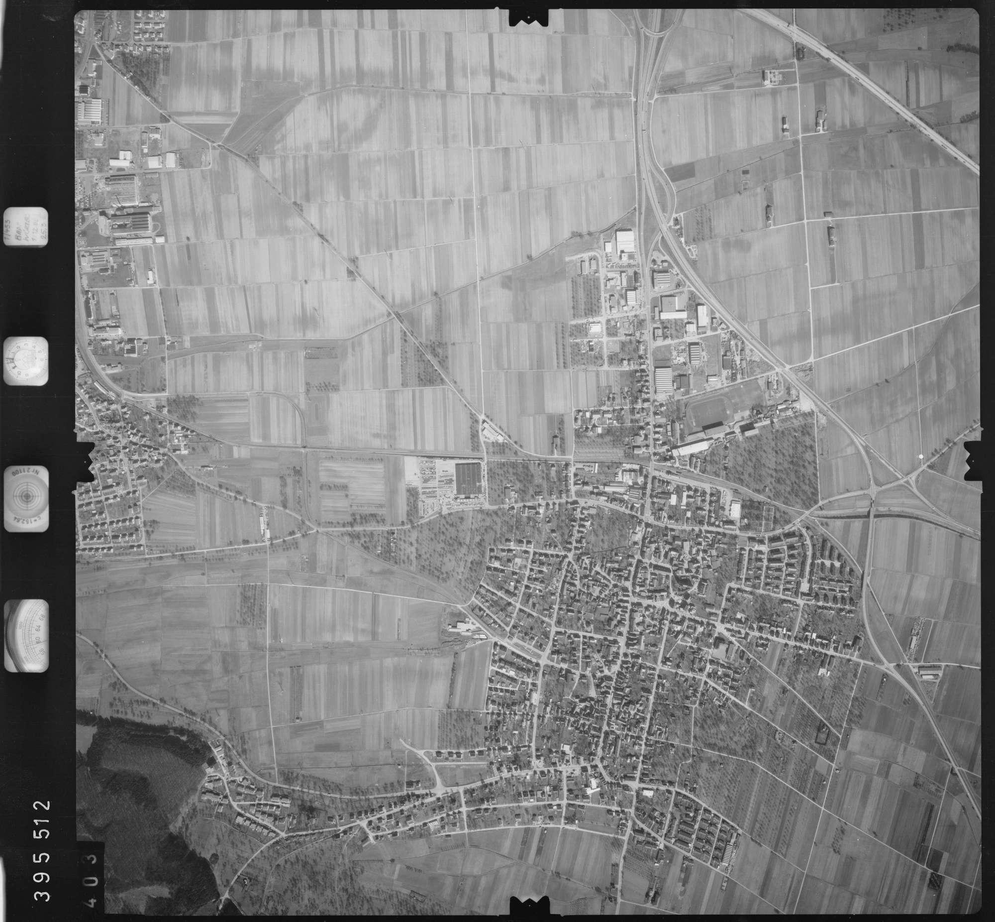 Luftbild: Film 13 Bildnr. 403, Bild 1