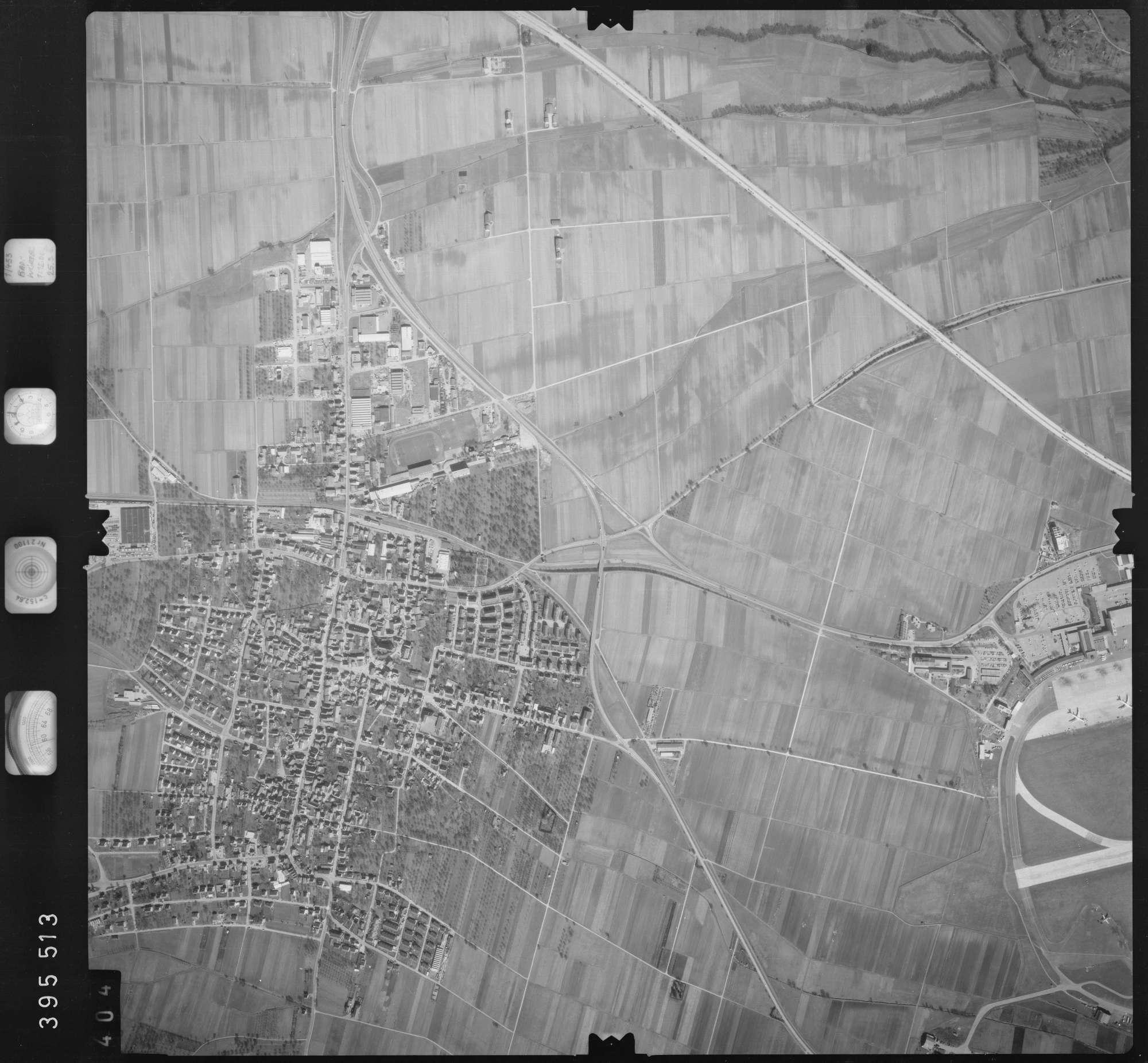 Luftbild: Film 13 Bildnr. 404, Bild 1