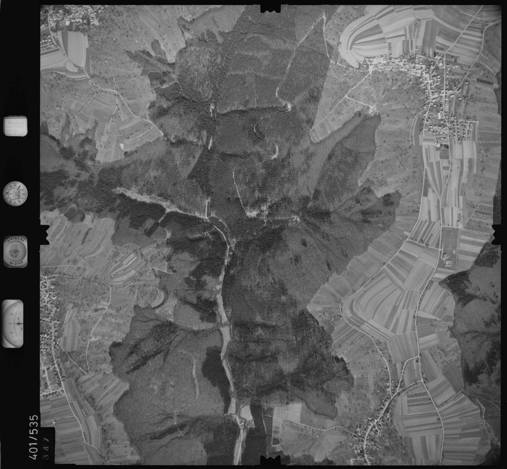 Luftbild: Film 10 Bildnr. 347, Bild 1