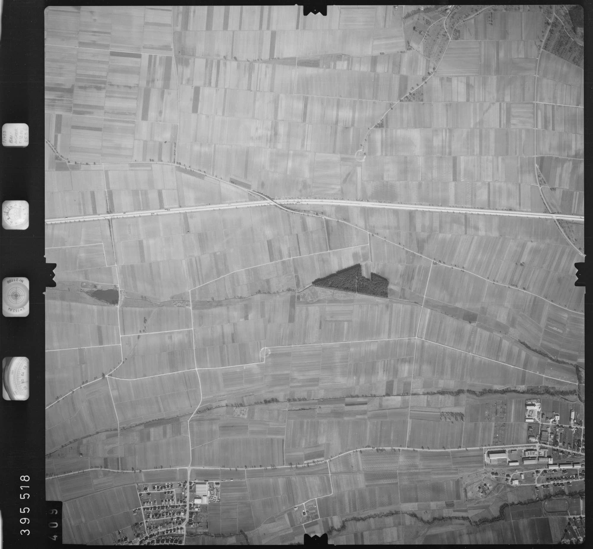 Luftbild: Film 13 Bildnr. 409, Bild 1