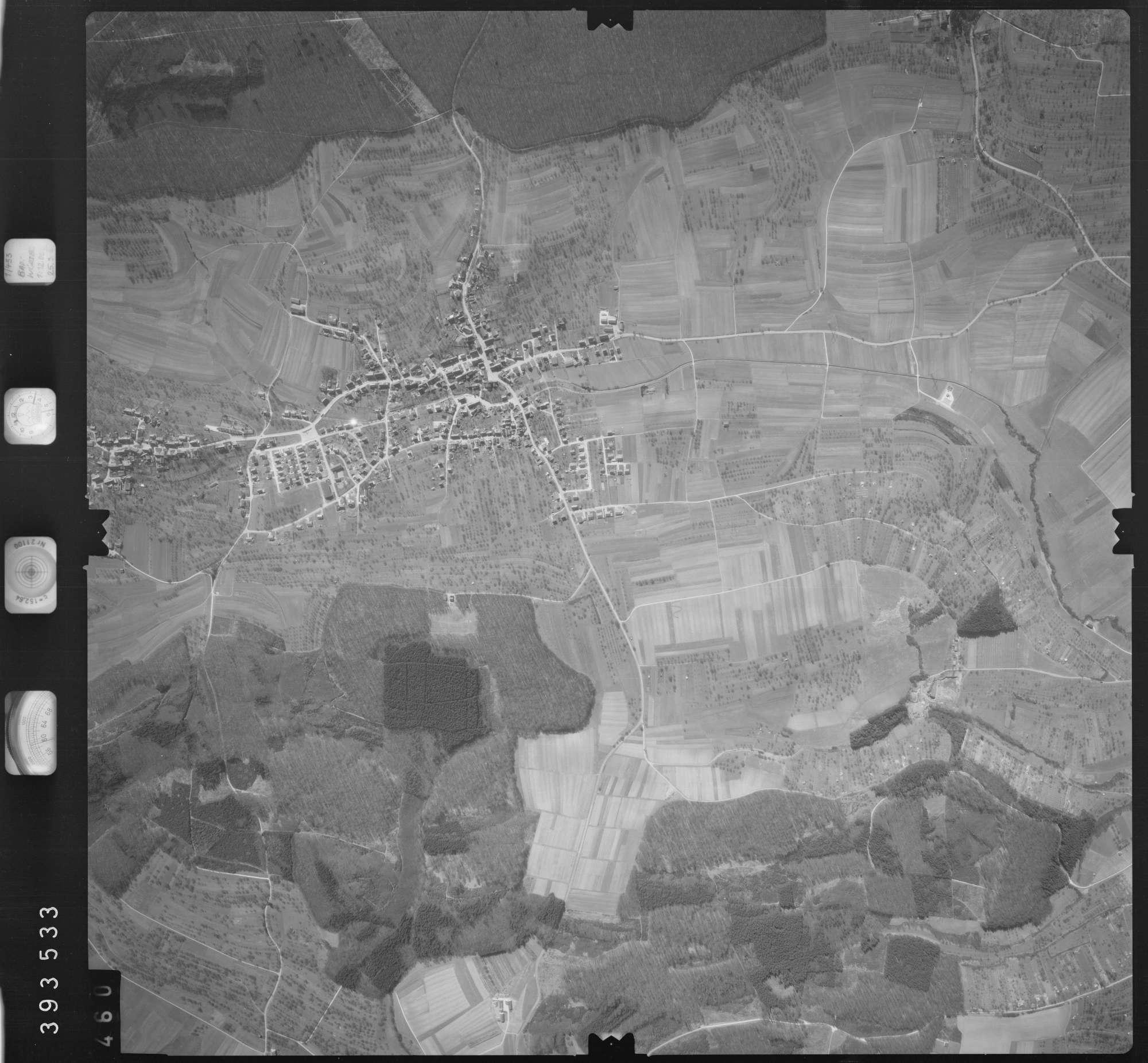Luftbild: Film 13 Bildnr. 460, Bild 1