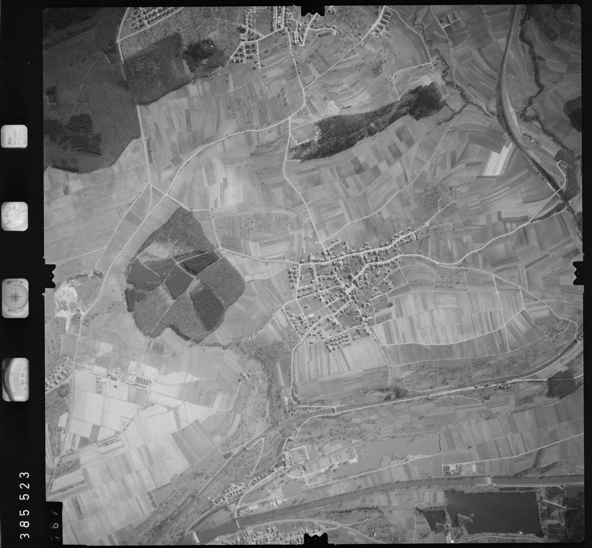 Luftbild: Film 23 Bildnr. 466, Bild 1