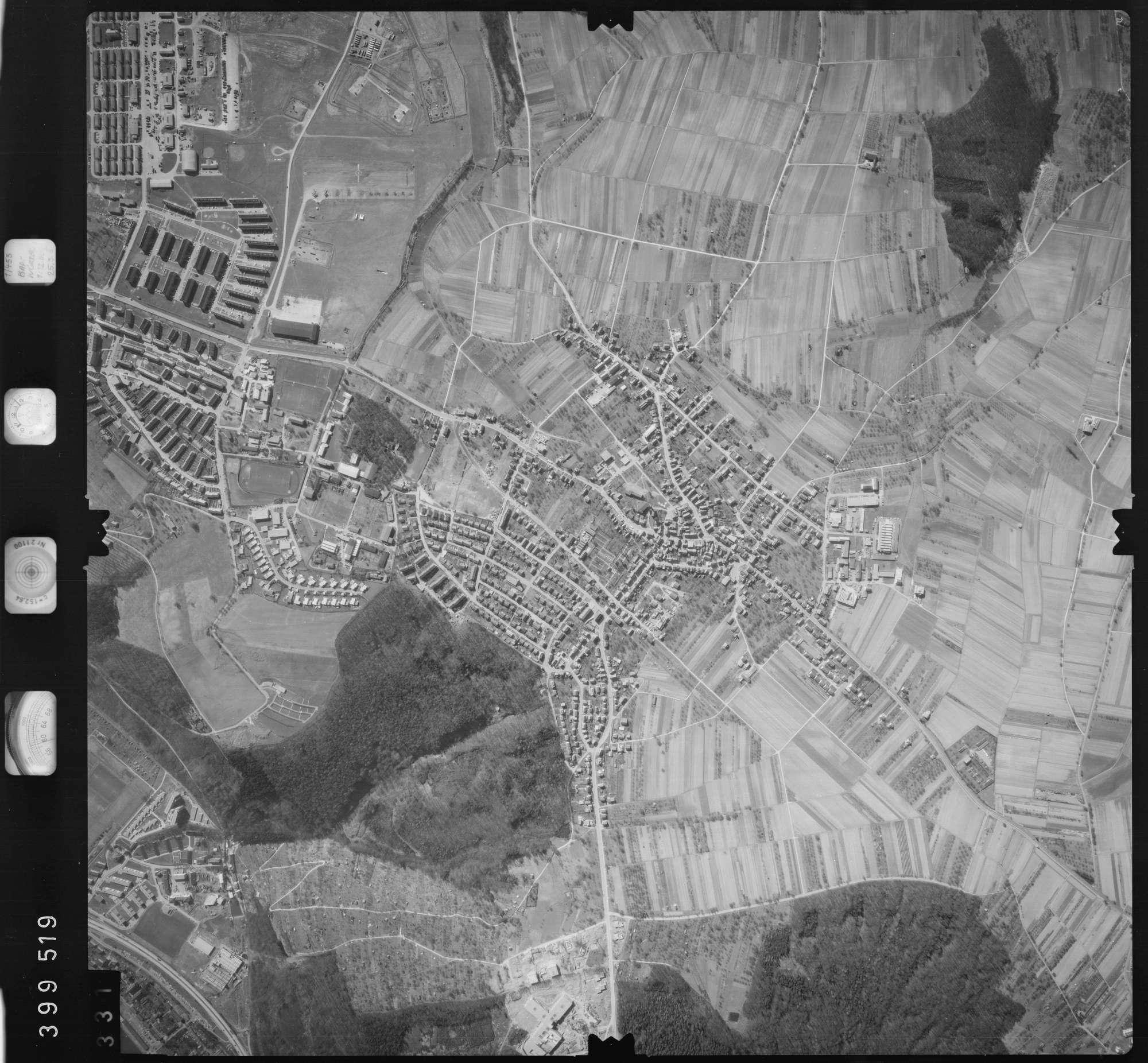 Luftbild: Film 13 Bildnr. 331, Bild 1