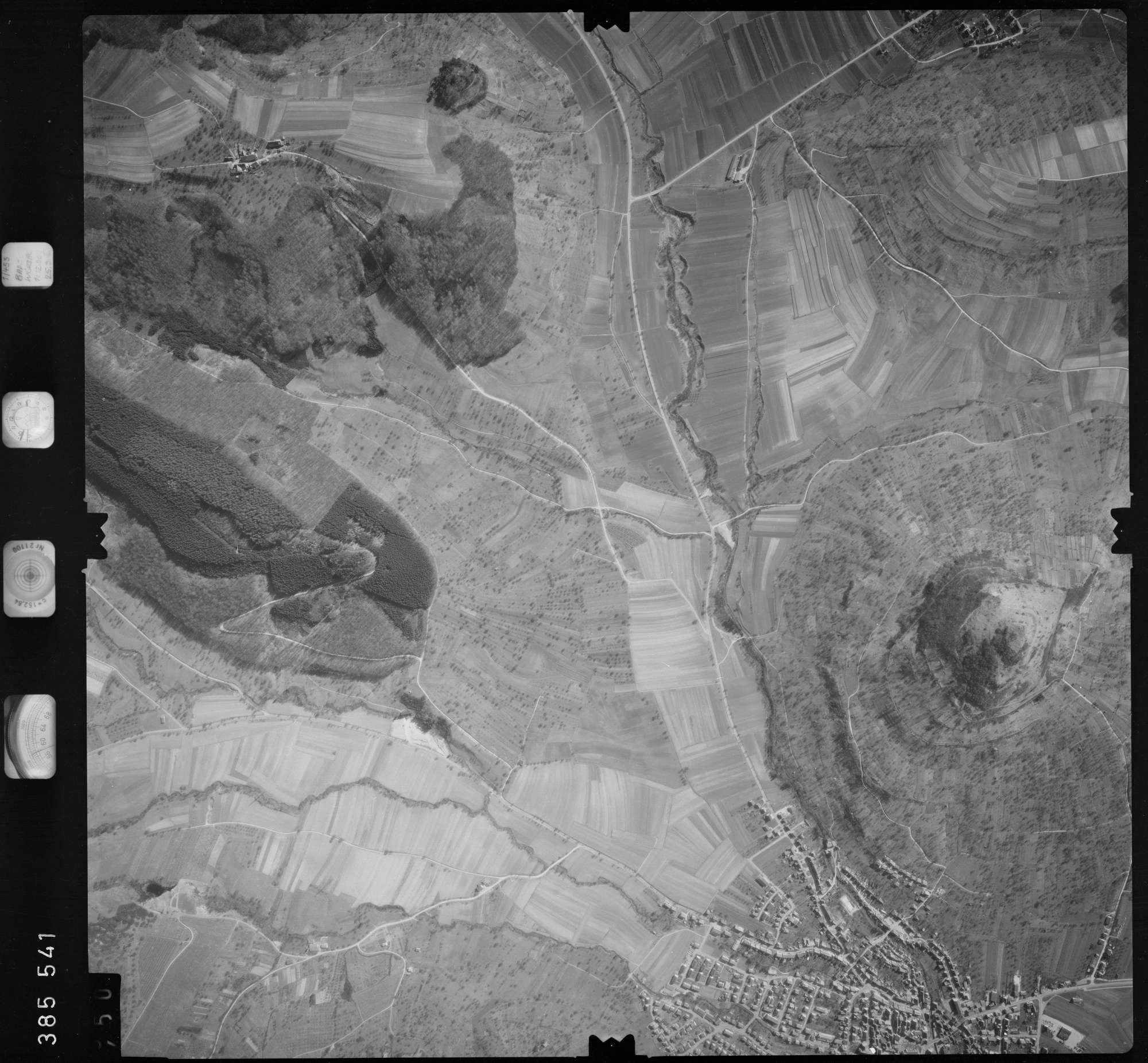Luftbild: Film 23 Bildnr. 449, Bild 1