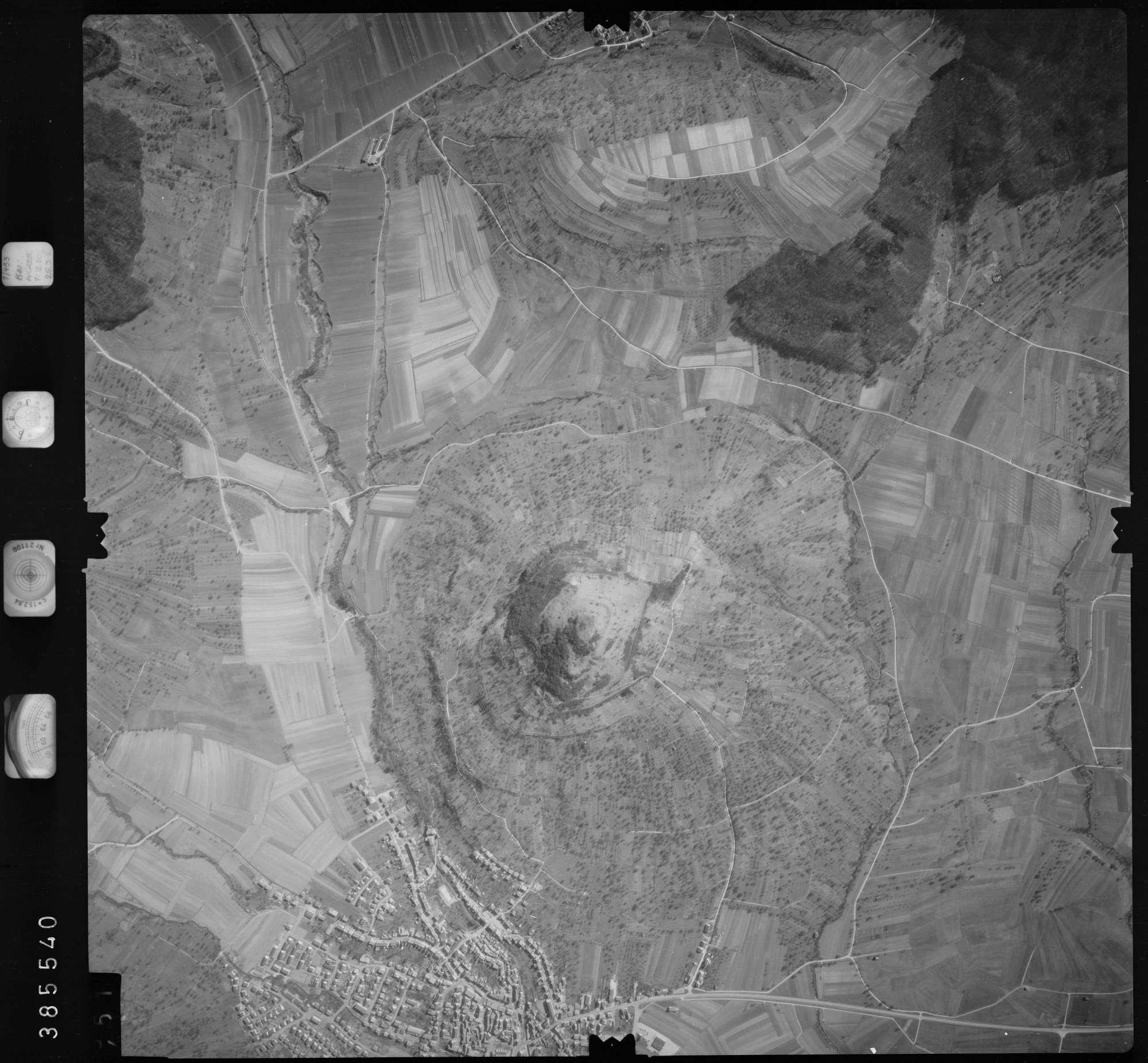 Luftbild: Film 23 Bildnr. 450, Bild 1