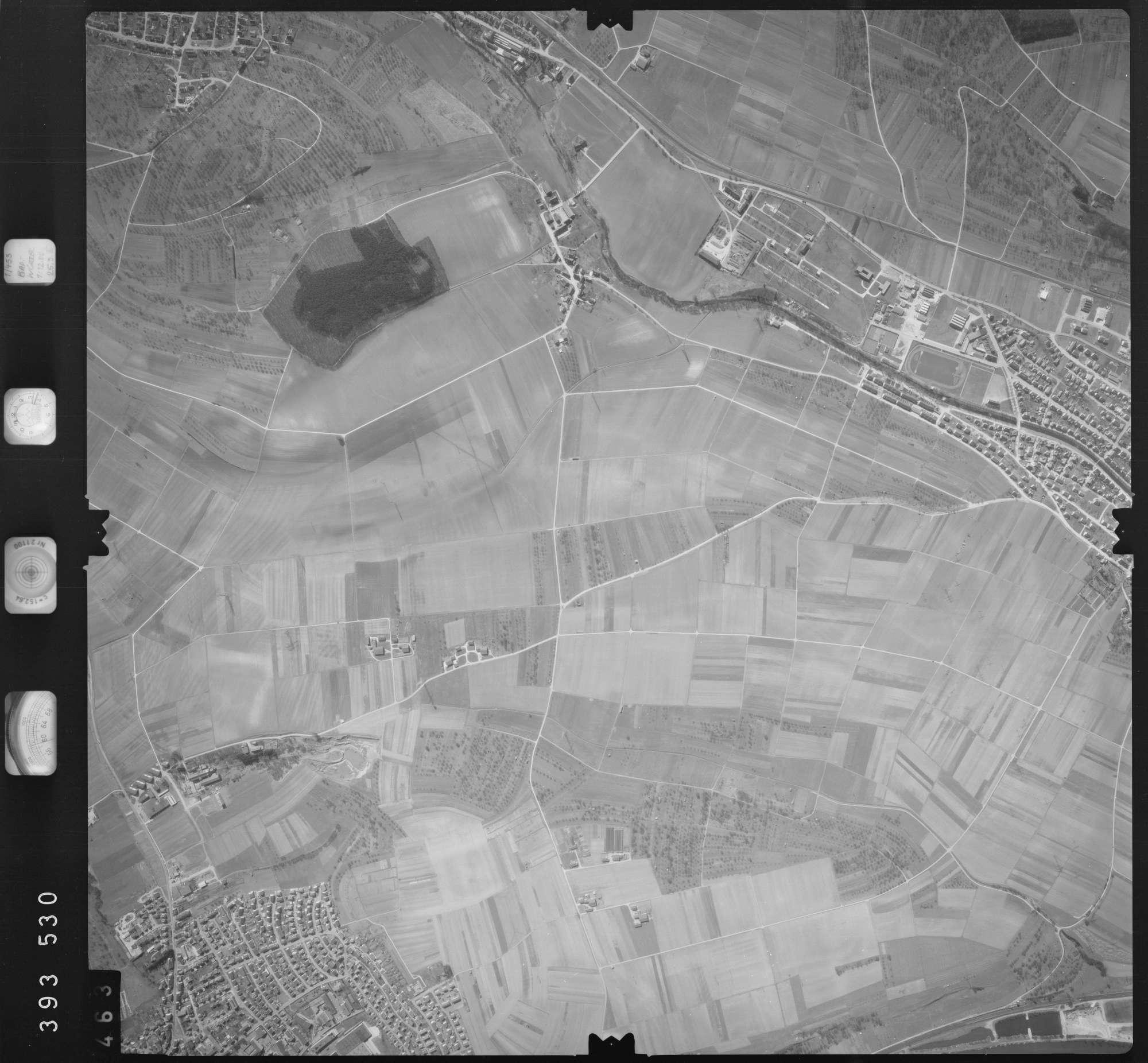 Luftbild: Film 13 Bildnr. 463, Bild 1