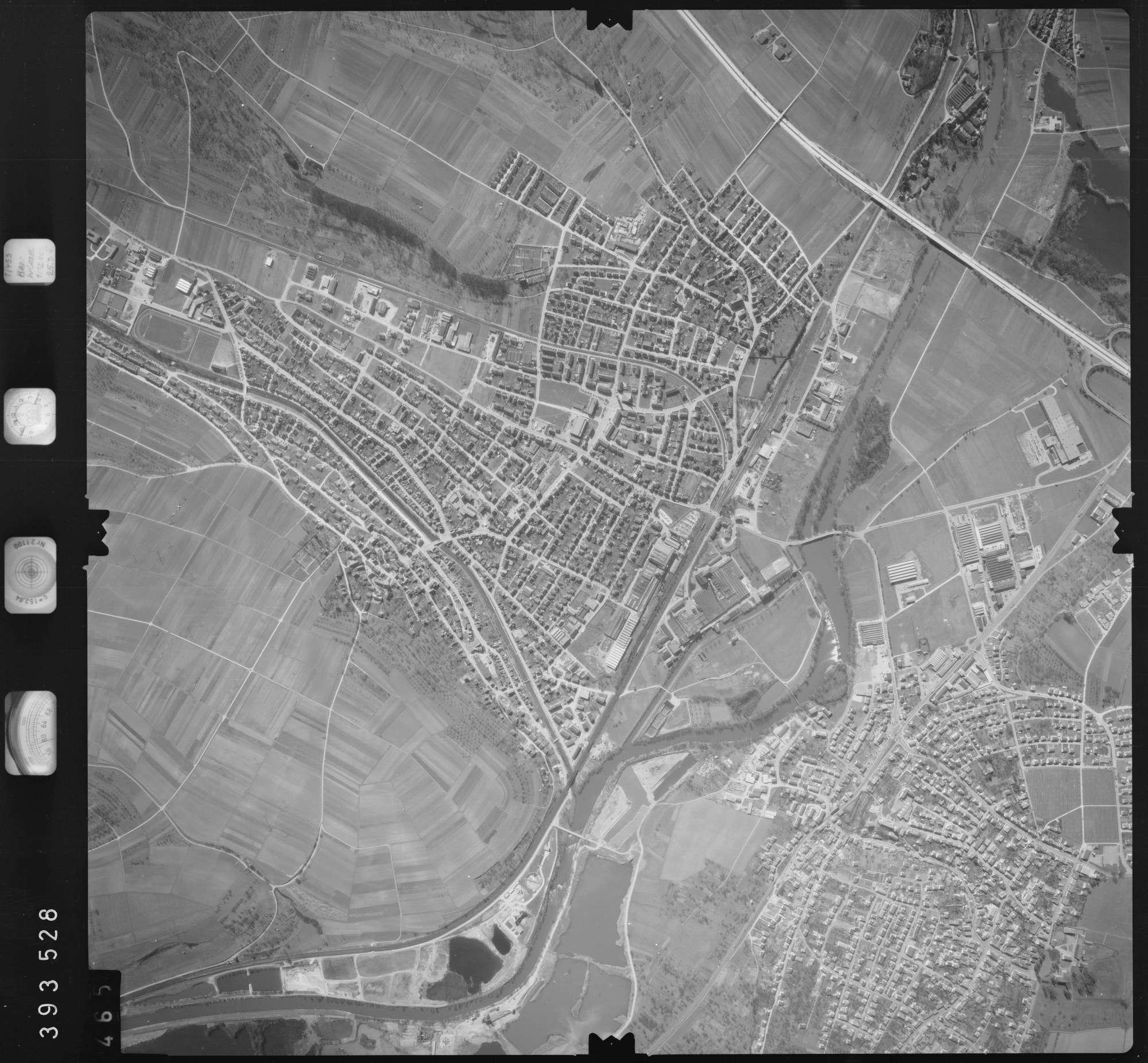 Luftbild: Film 13 Bildnr. 465, Bild 1