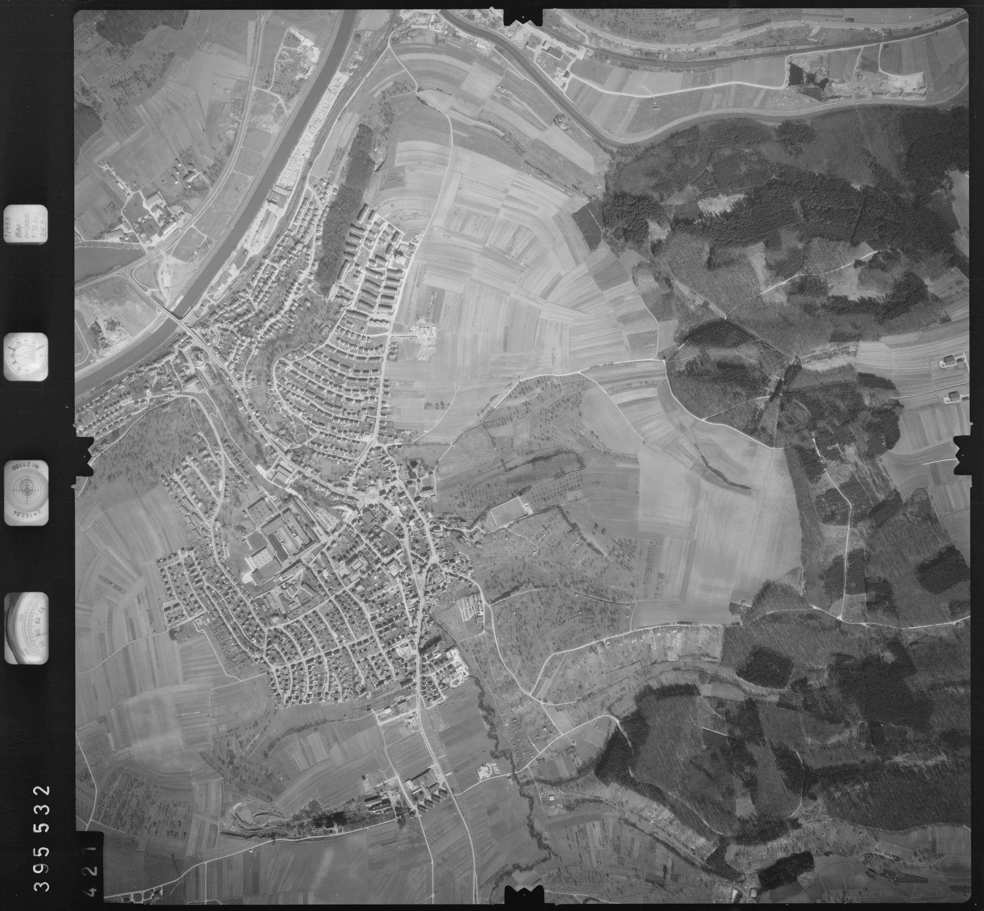 Luftbild: Film 13 Bildnr. 421, Bild 1