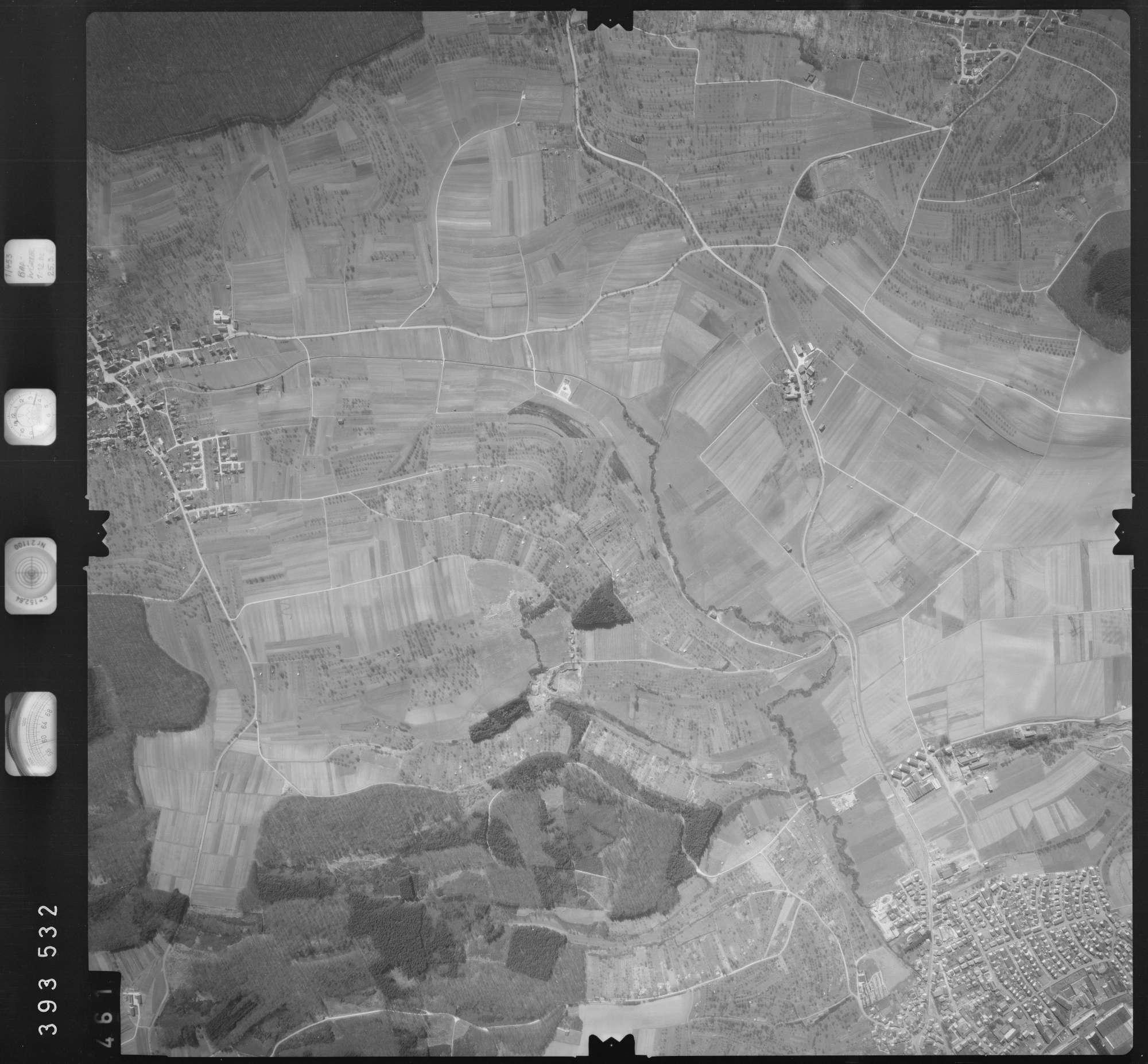 Luftbild: Film 13 Bildnr. 461, Bild 1