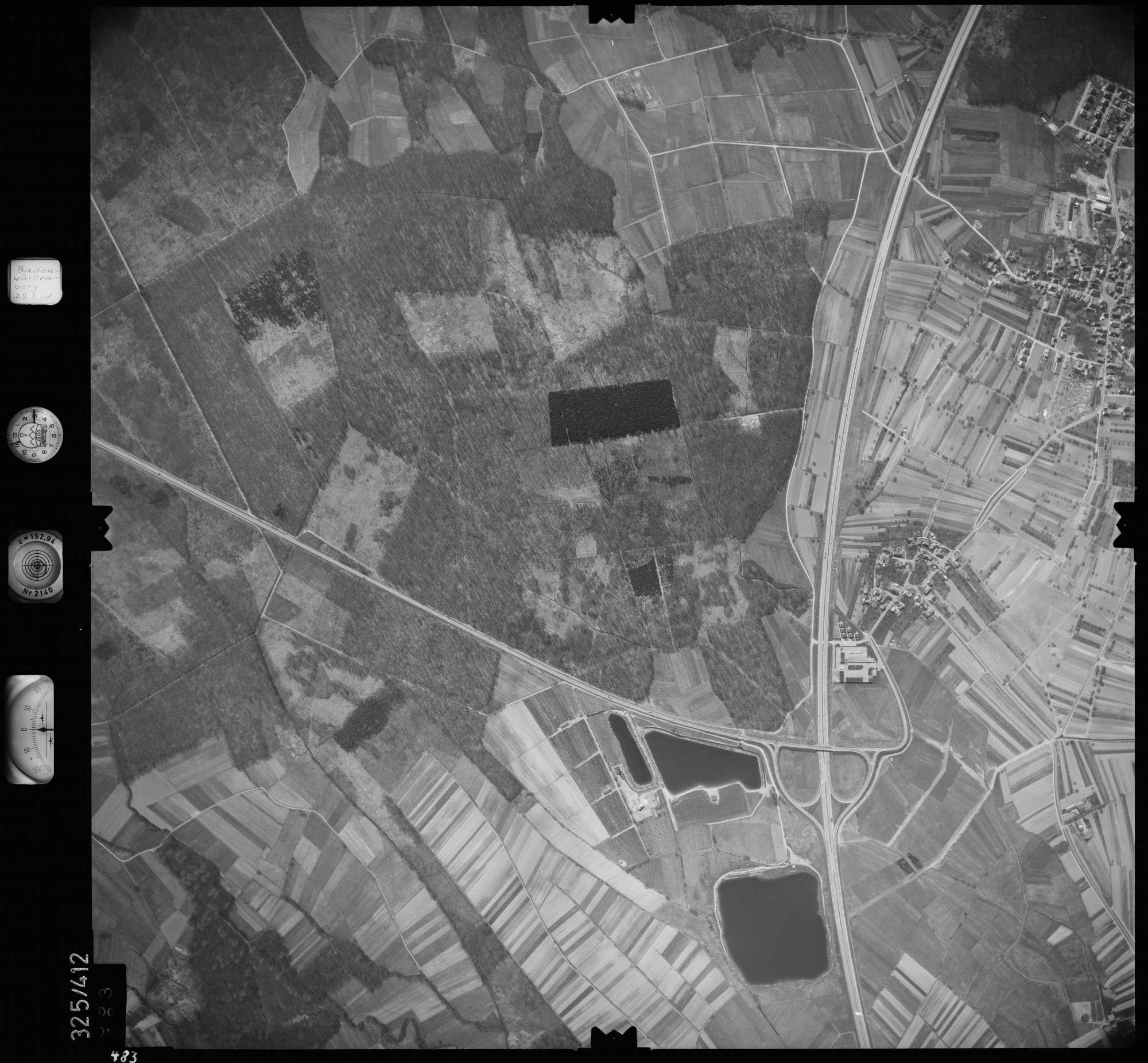 Luftbild: Film 47 Bildnr. 483, Bild 1
