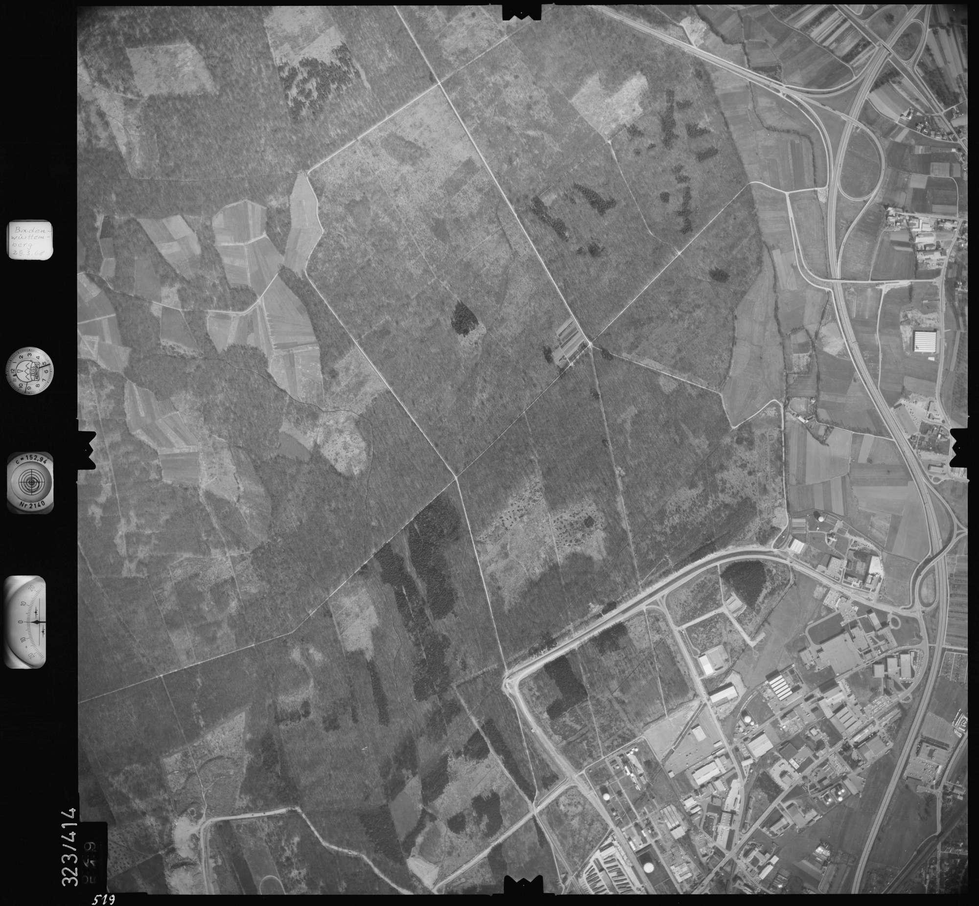 Luftbild: Film 47 Bildnr. 519, Bild 1