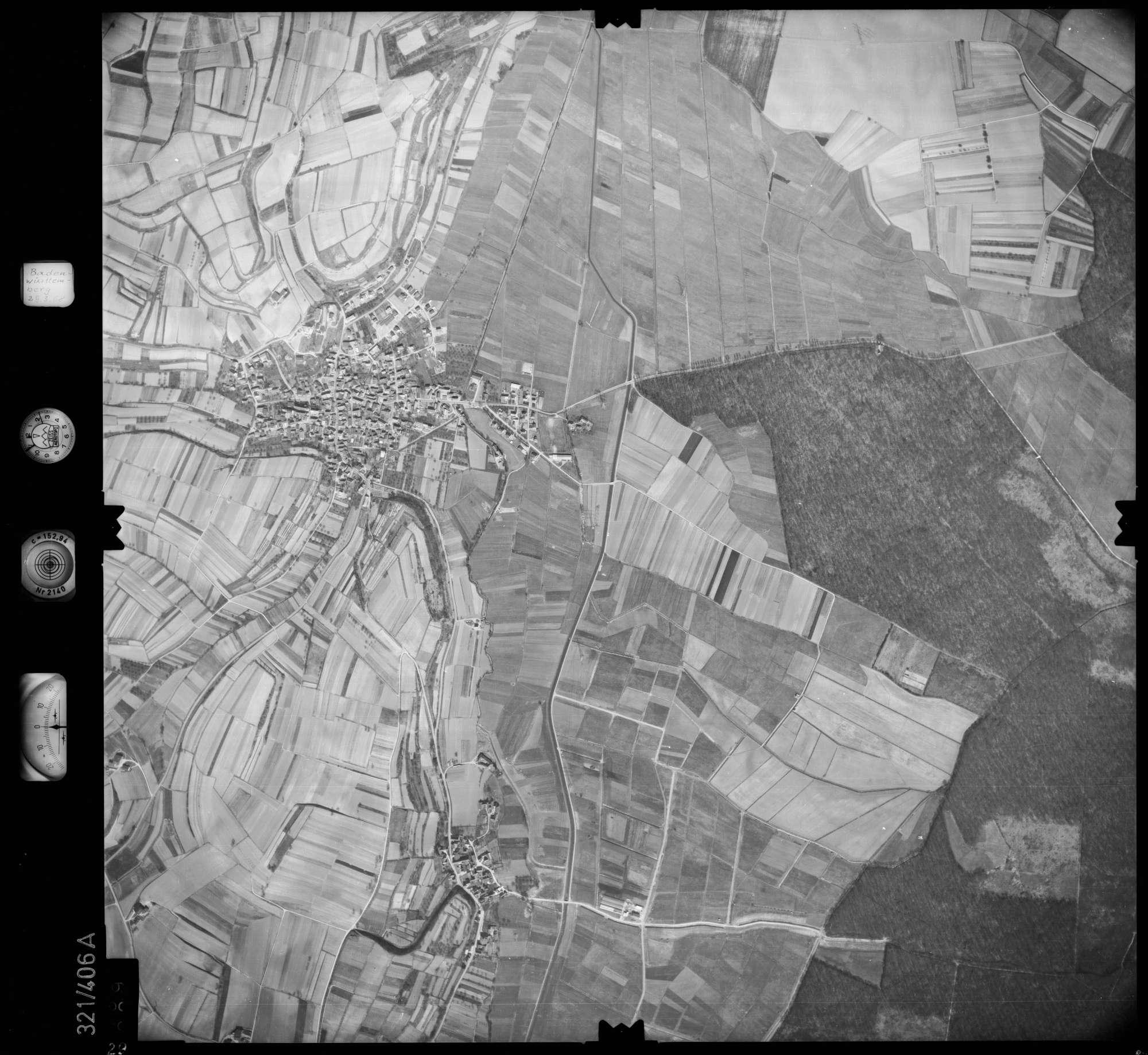 Luftbild: Film 54 Bildnr. 29, Bild 1