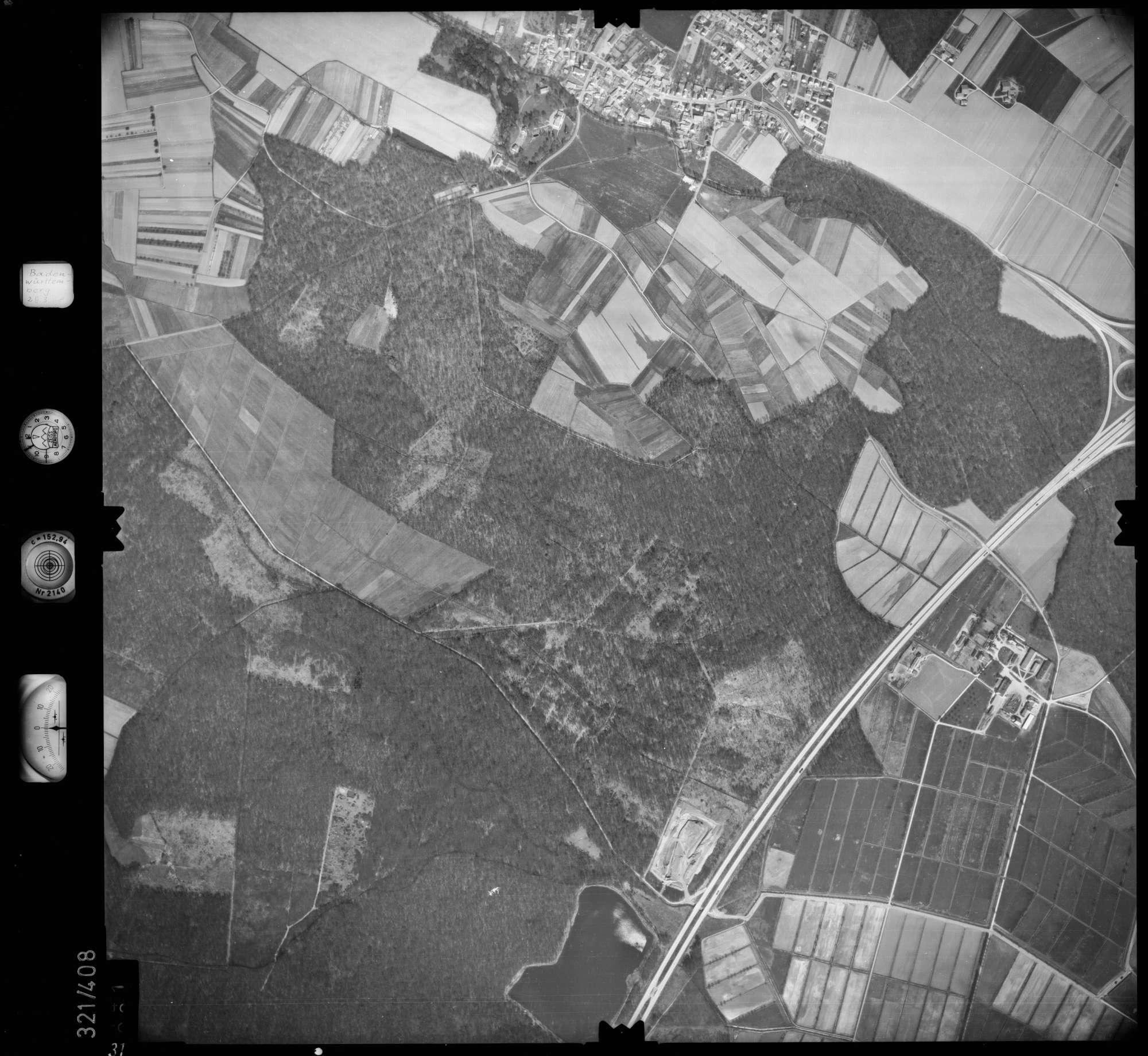Luftbild: Film 54 Bildnr. 31, Bild 1