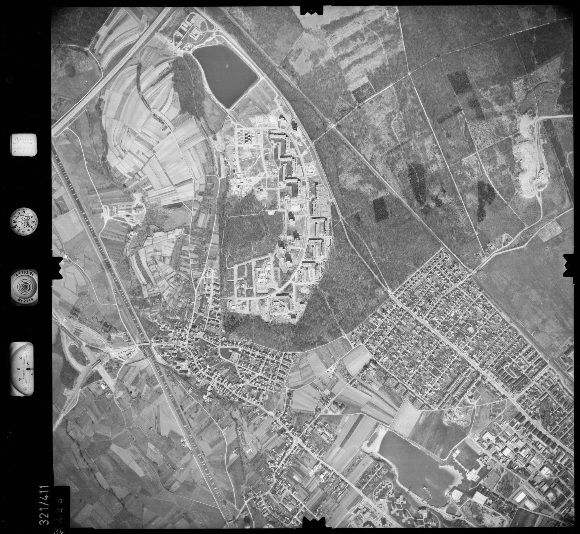 Luftbild: Film 54 Bildnr. 34, Bild 1