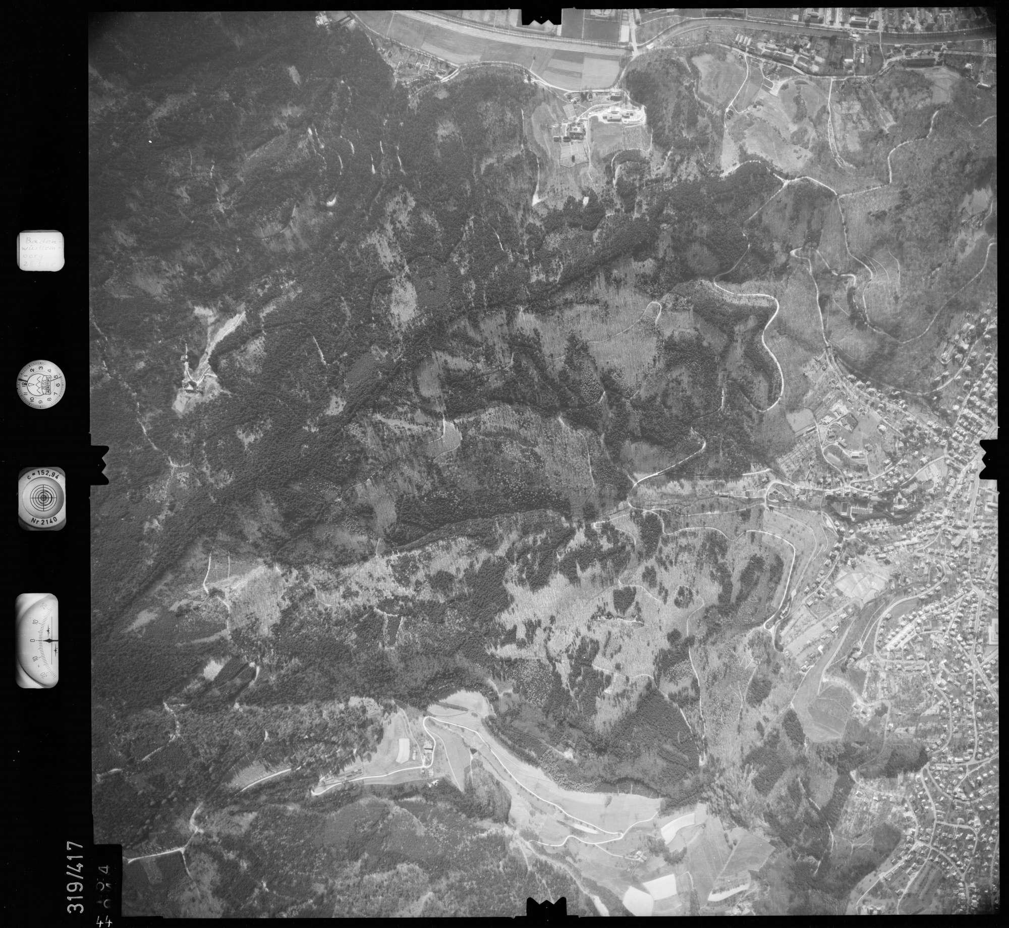 Luftbild: Film 54 Bildnr. 44, Bild 1