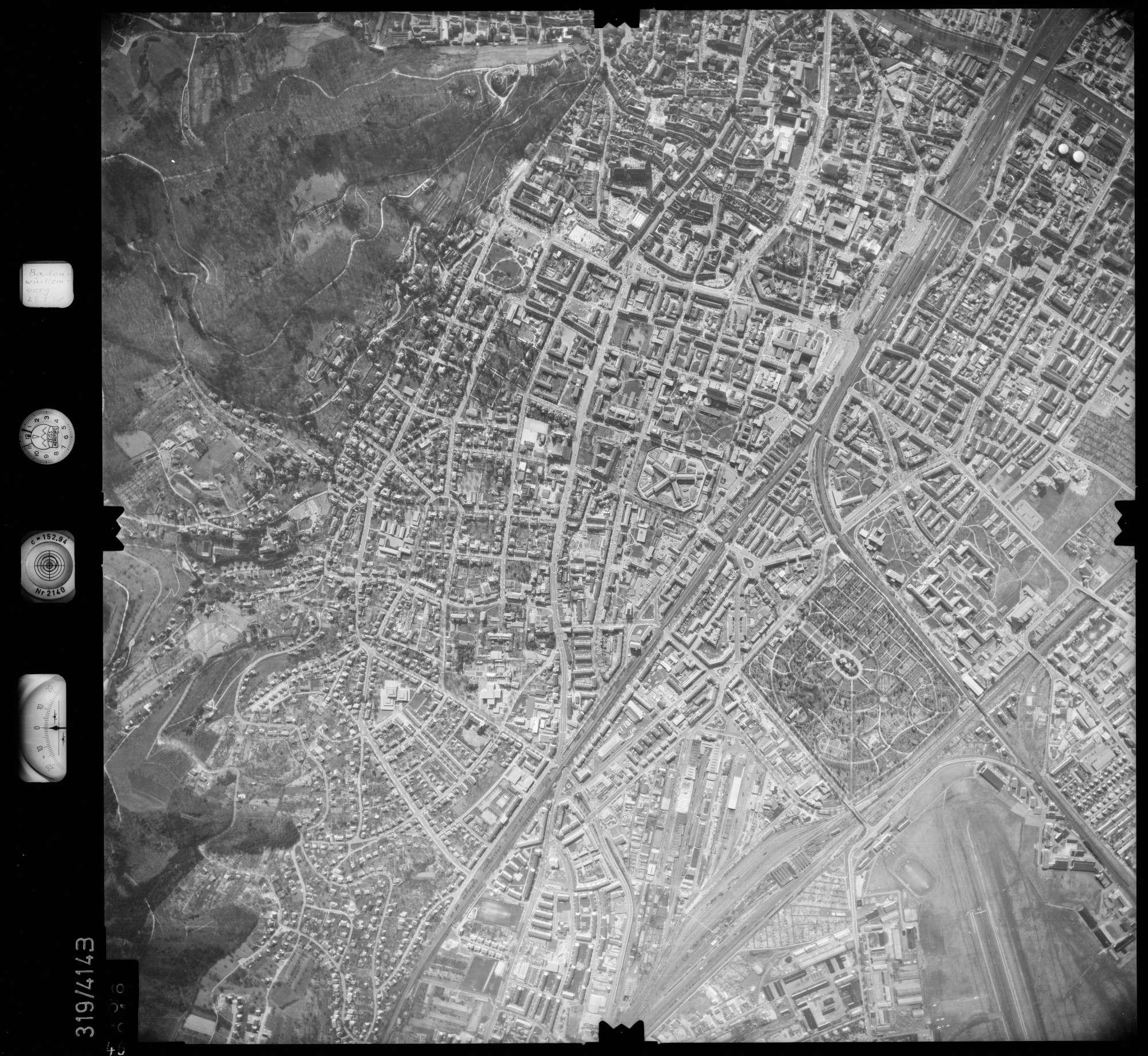 Luftbild: Film 54 Bildnr. 46, Bild 1