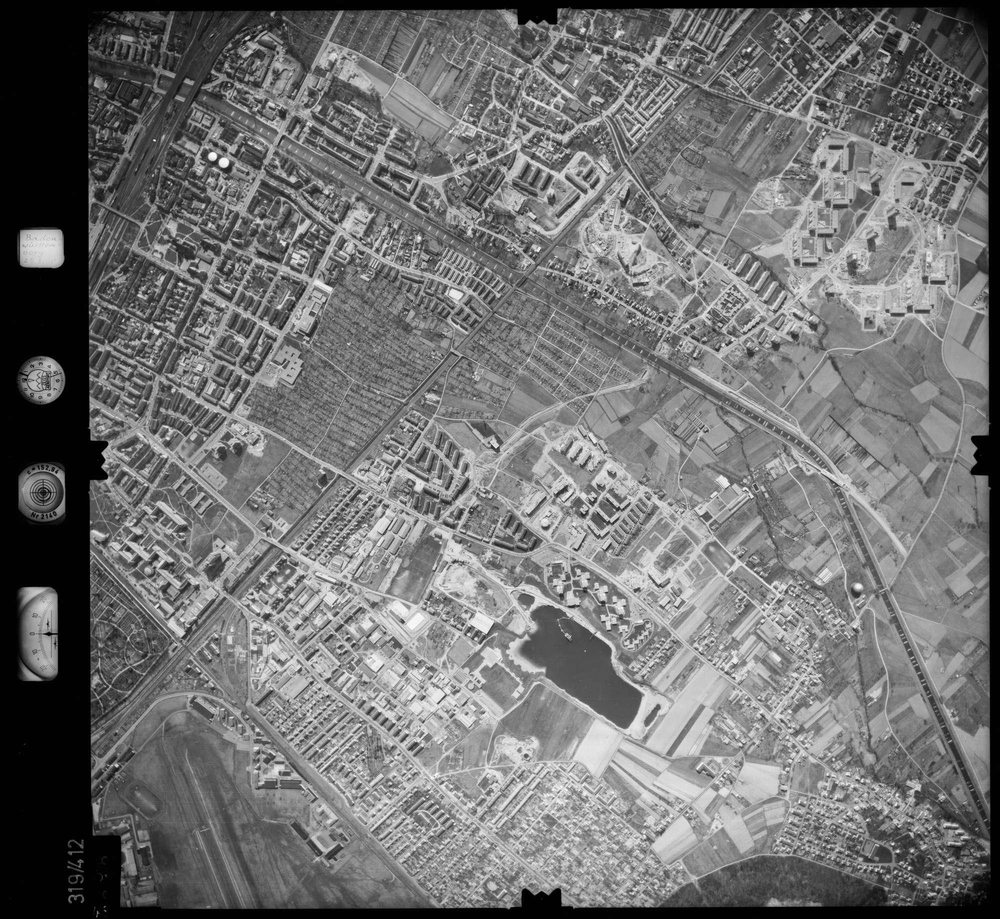 Luftbild: Film 54 Bildnr. 48, Bild 1