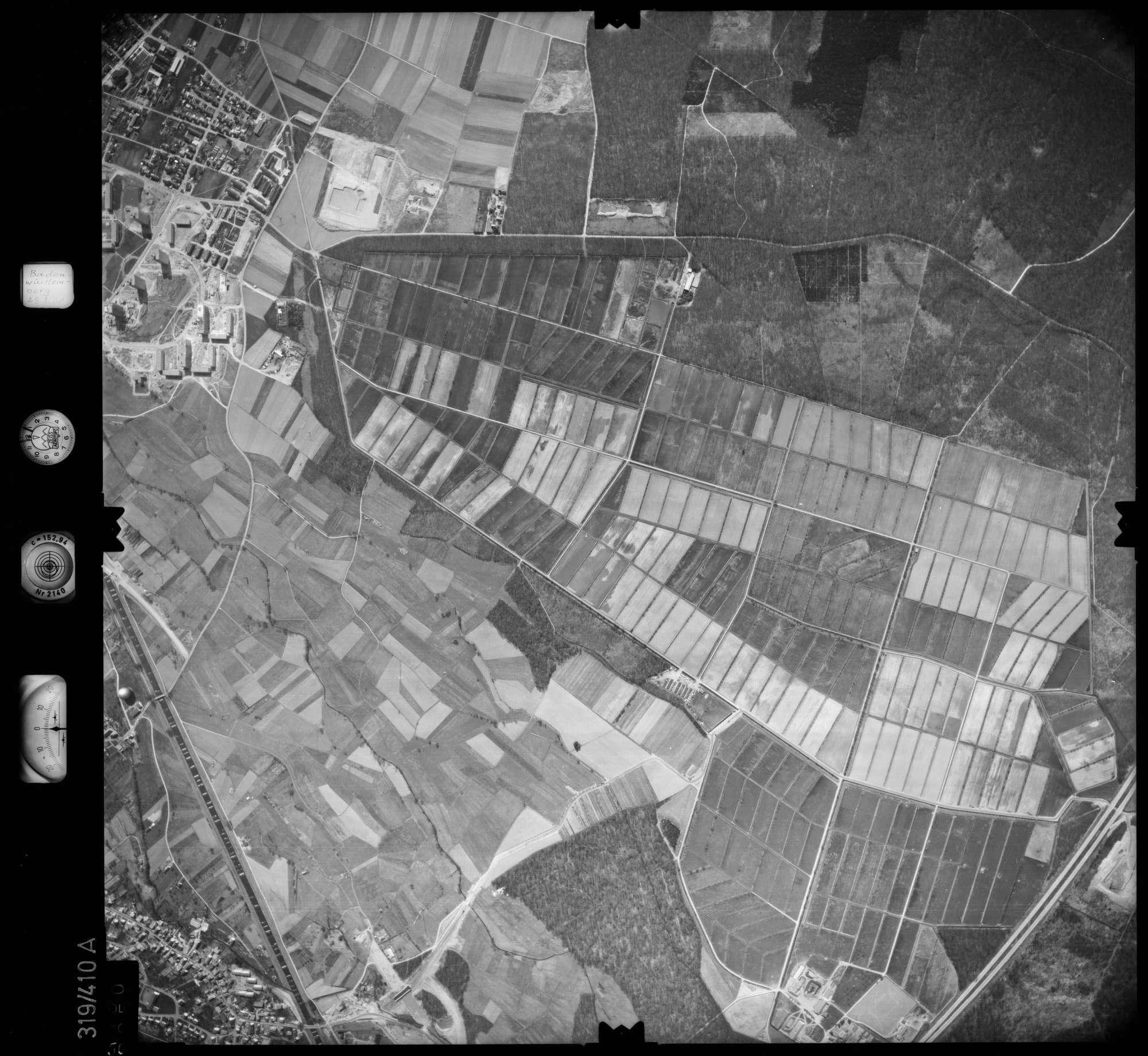 Luftbild: Film 54 Bildnr. 50, Bild 1
