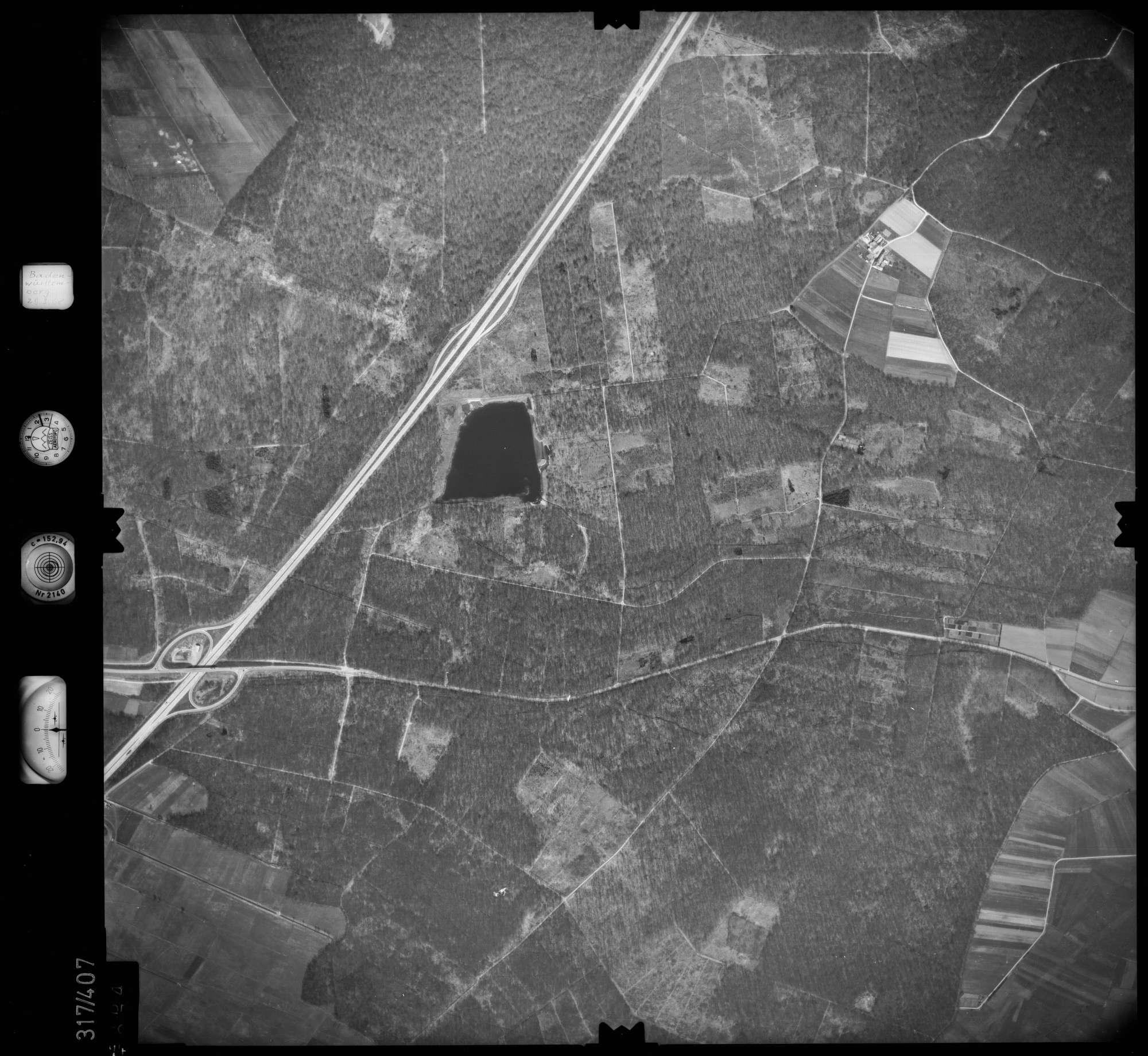 Luftbild: Film 54 Bildnr. 74, Bild 1