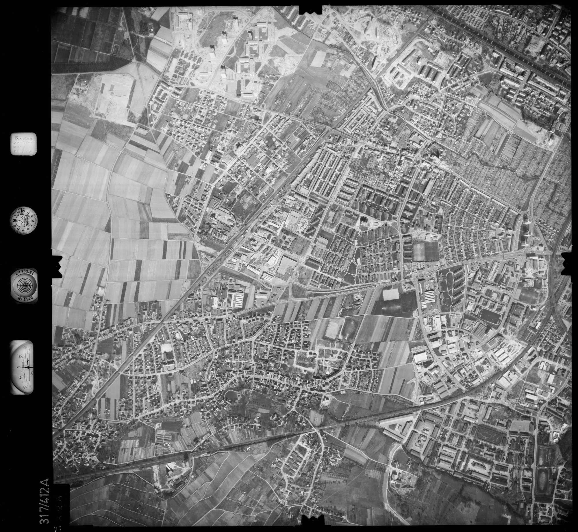 Luftbild: Film 54 Bildnr. 78, Bild 1