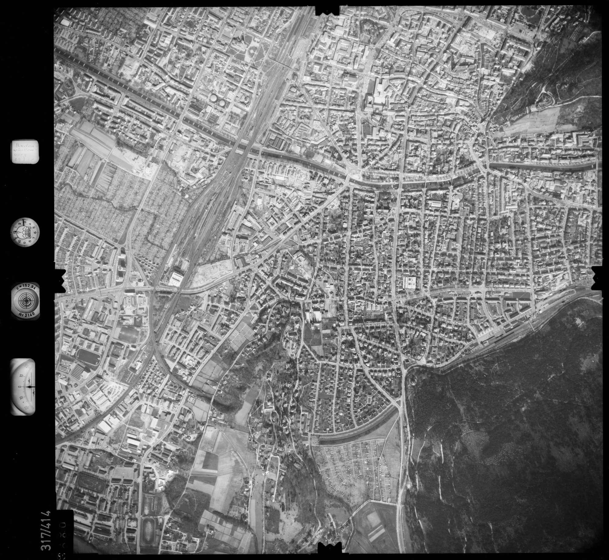 Luftbild: Film 54 Bildnr. 80, Bild 1