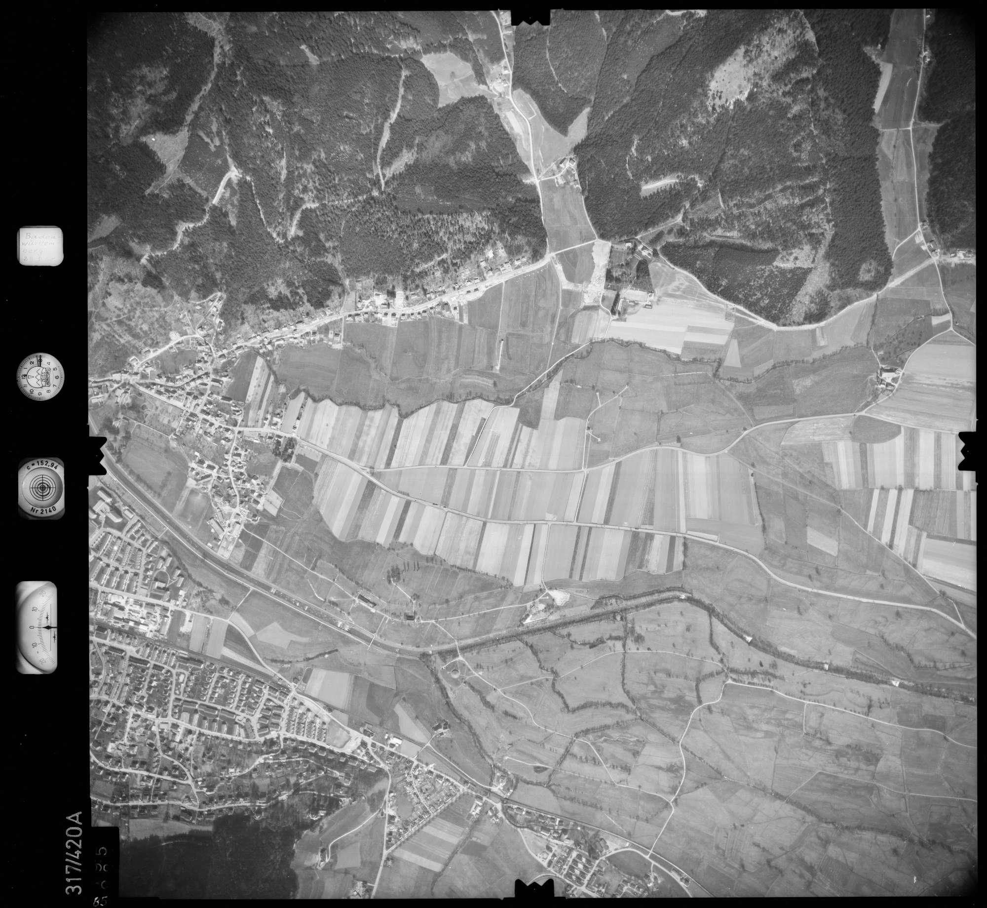 Luftbild: Film 54 Bildnr. 85, Bild 1