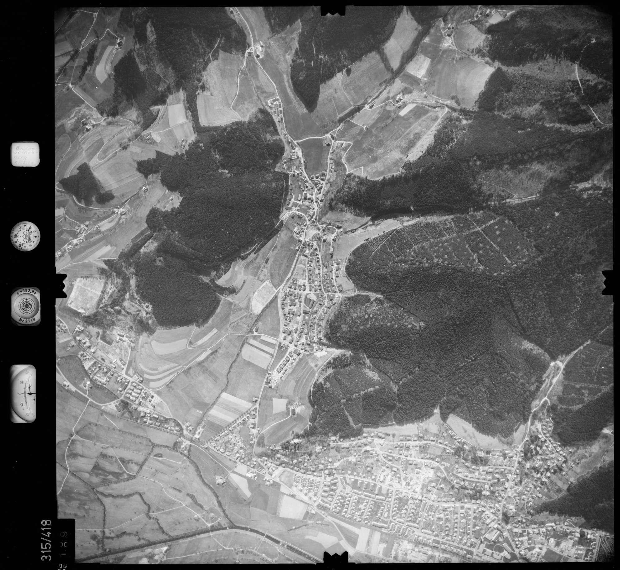 Luftbild: Film 54 Bildnr. 99, Bild 1