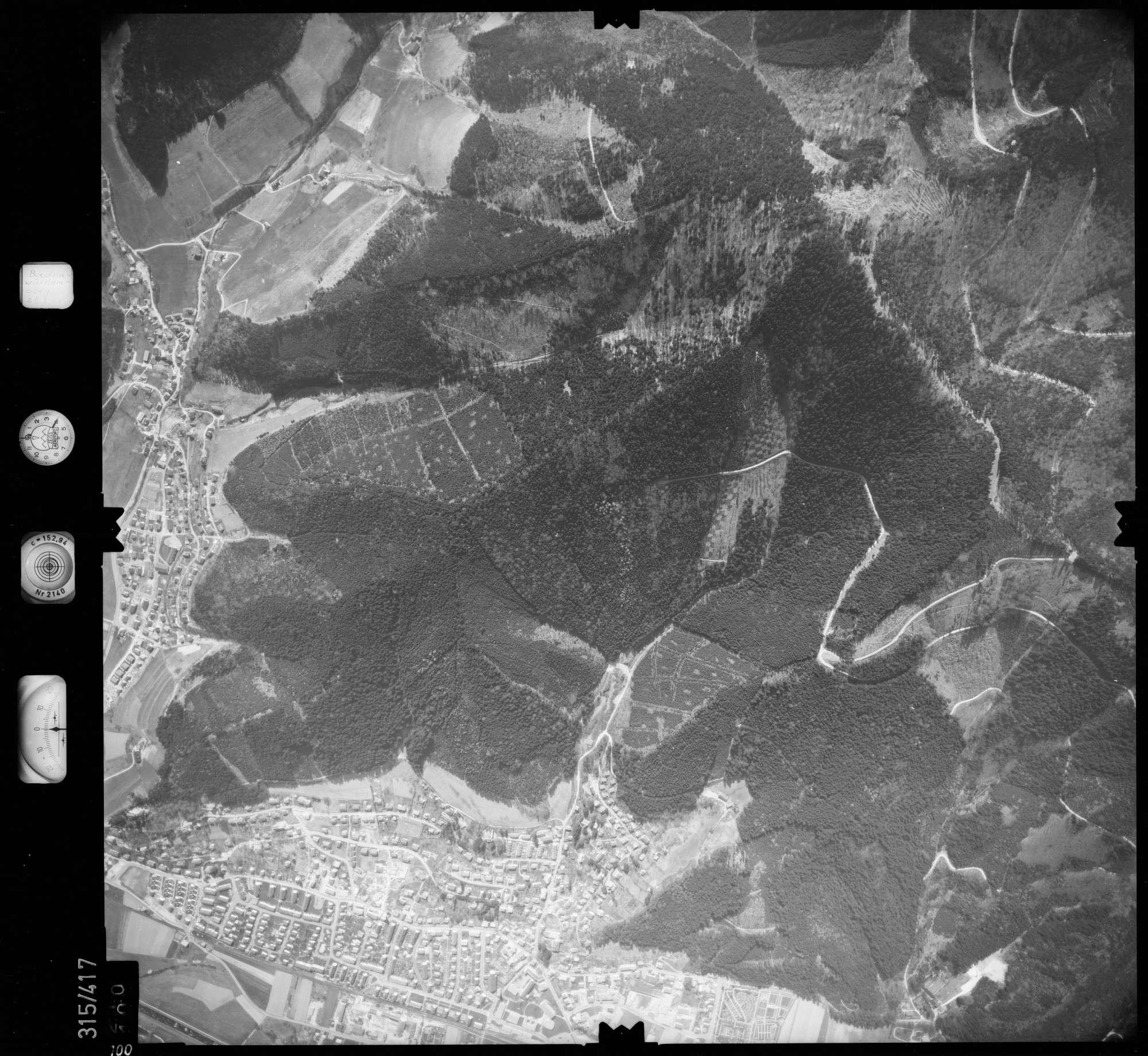 Luftbild: Film 54 Bildnr. 100, Bild 1