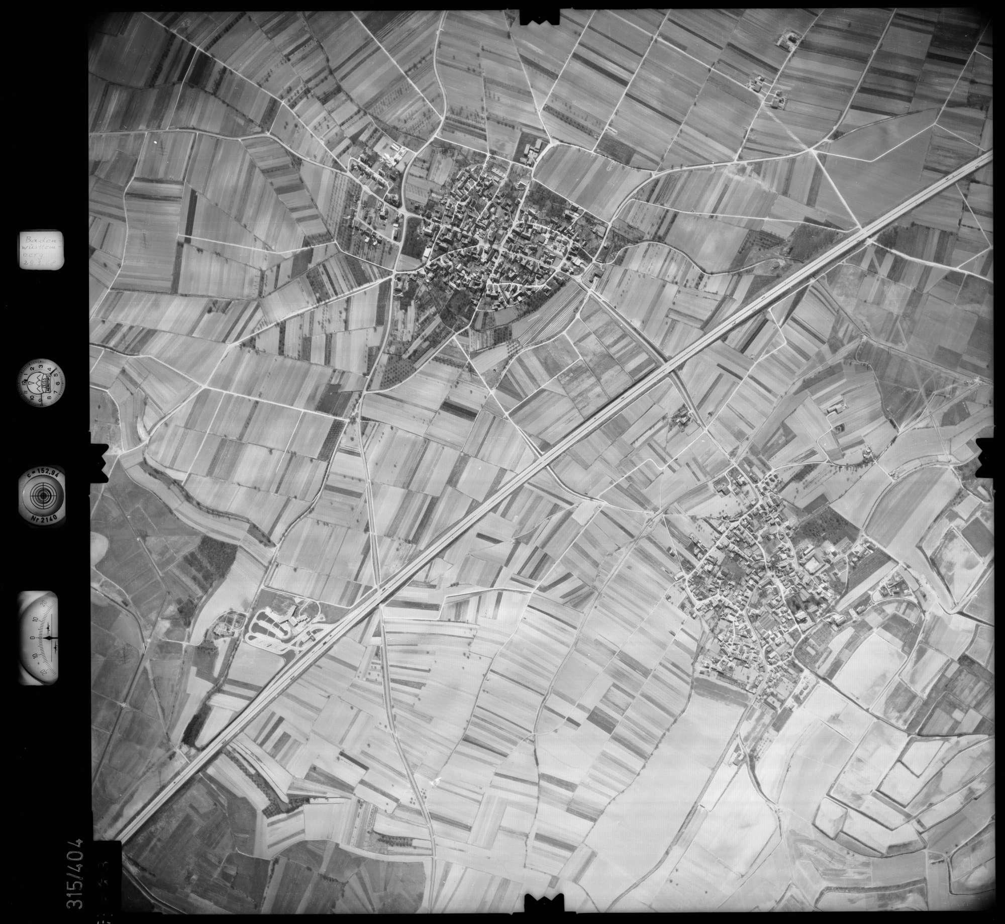 Luftbild: Film 54 Bildnr. 113, Bild 1