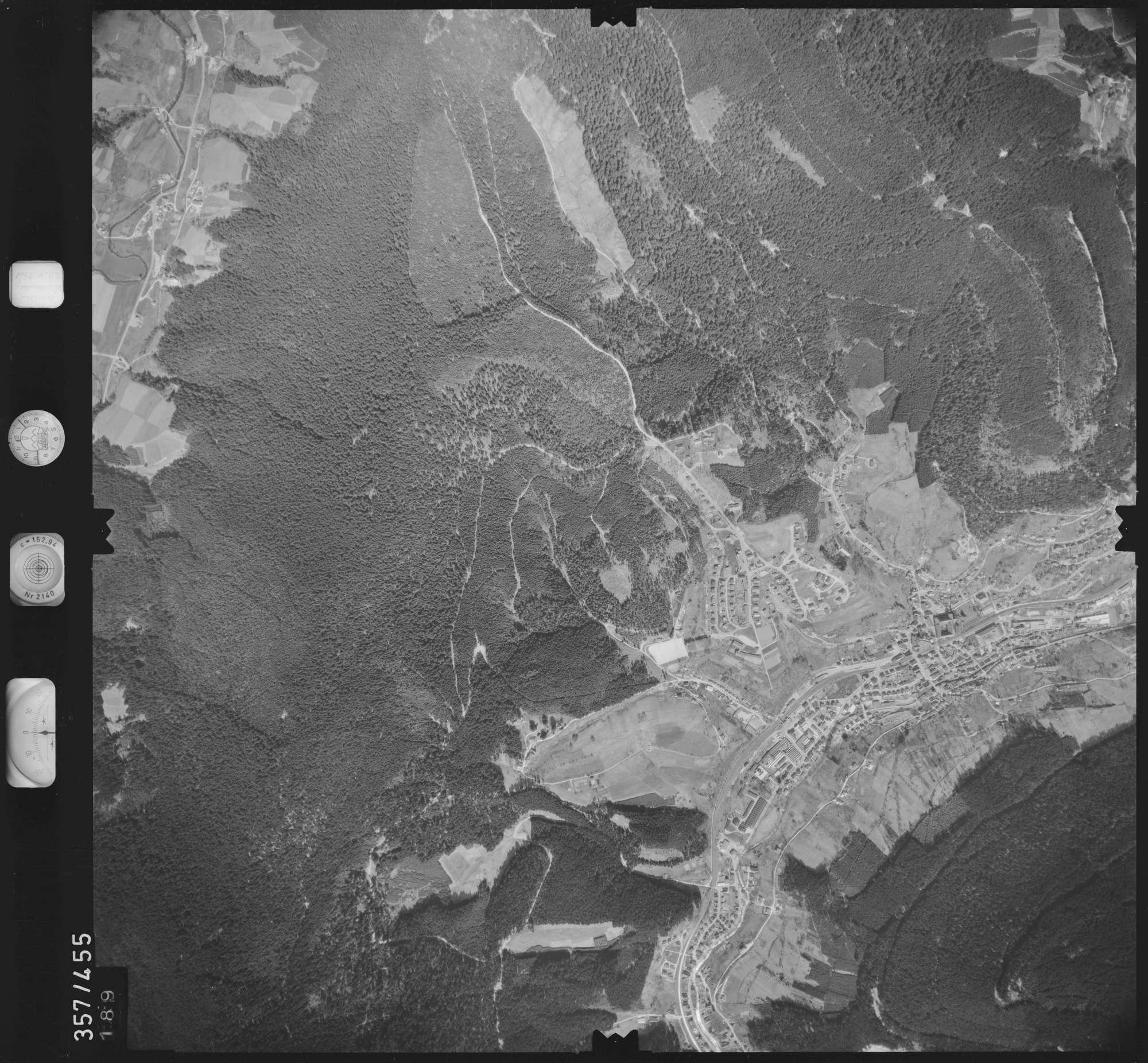 Luftbild: Film 11 Bildnr. 189, Bild 1
