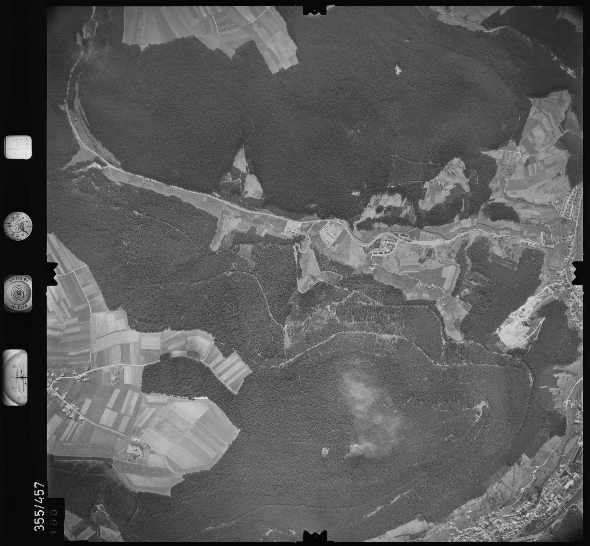 Luftbild: Film 37 Bildnr. 160, Bild 1