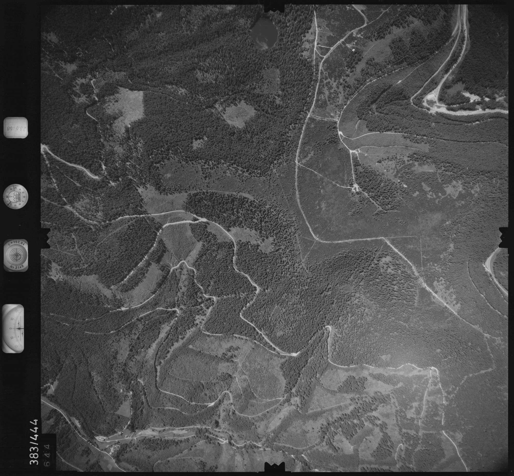 Luftbild: Film 25 Bildnr. 644, Bild 1