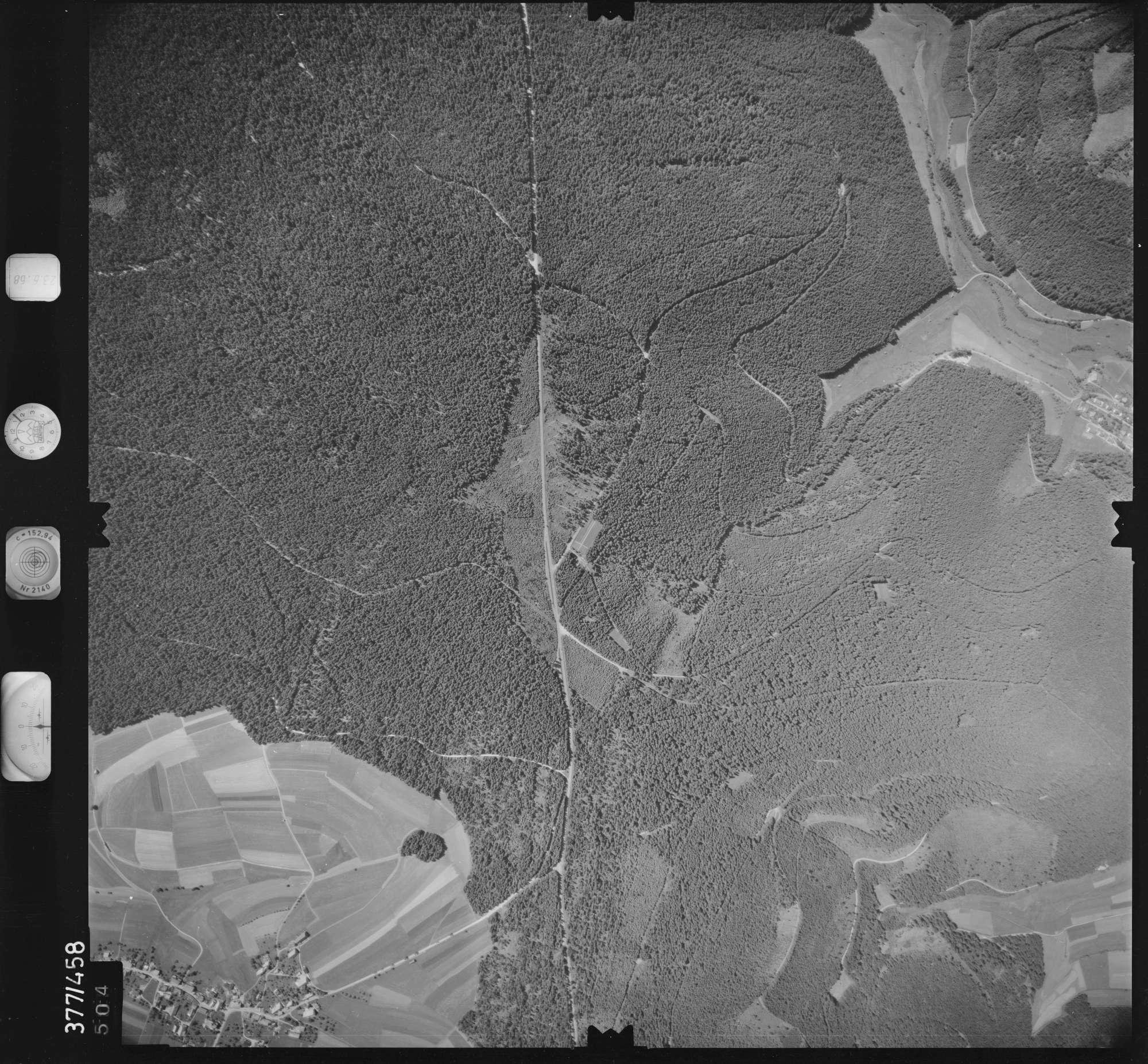 Luftbild: Film 29 Bildnr. 504, Bild 1