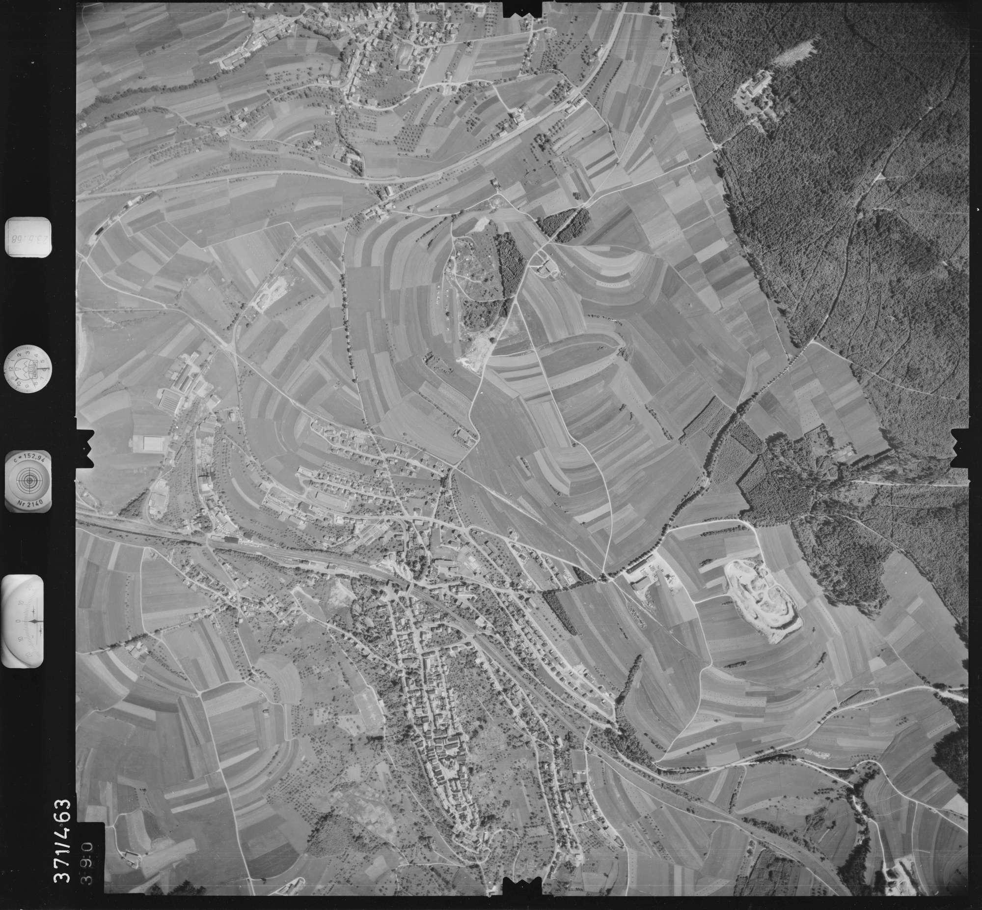 Luftbild: Film 29 Bildnr. 390, Bild 1