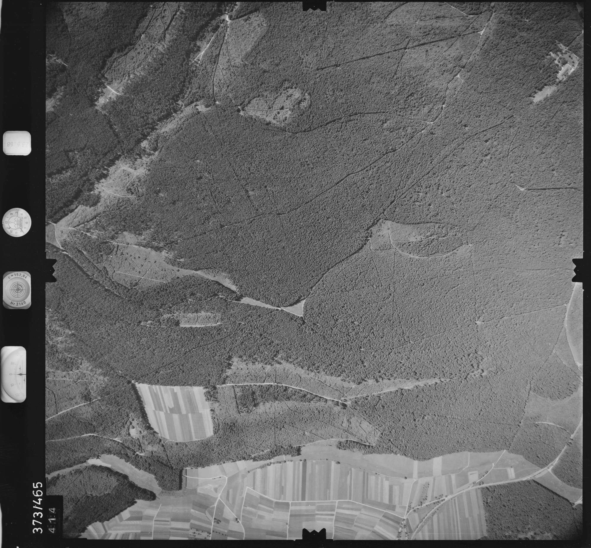 Luftbild: Film 29 Bildnr. 414, Bild 1