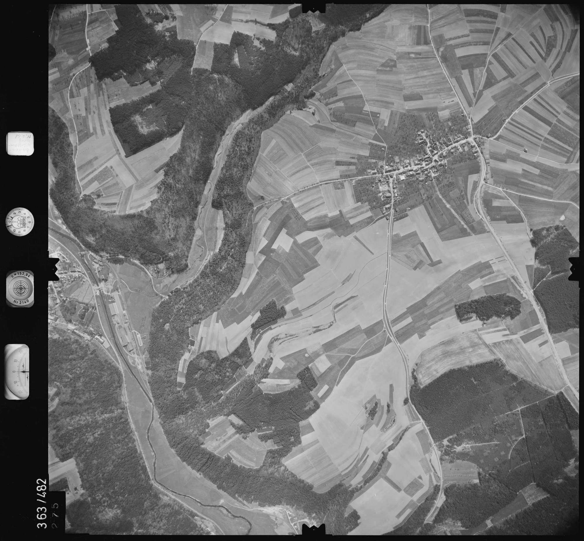 Luftbild: Film 45 Bildnr. 275, Bild 1