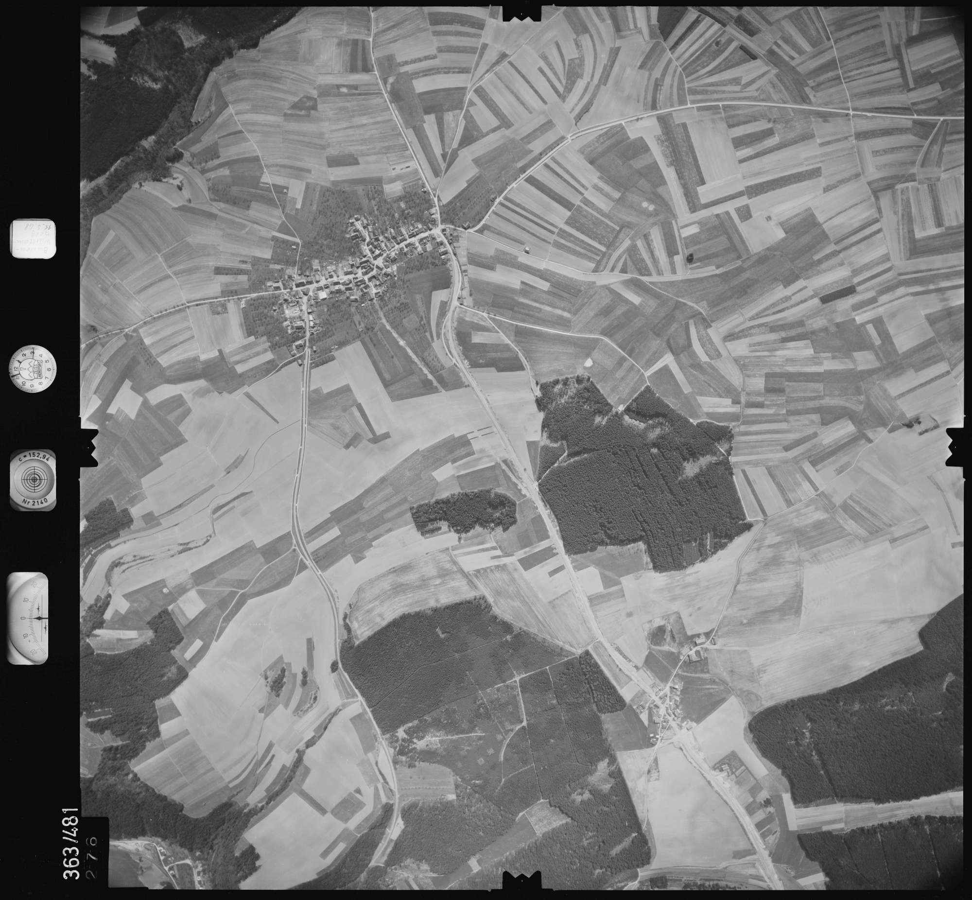 Luftbild: Film 45 Bildnr. 276, Bild 1