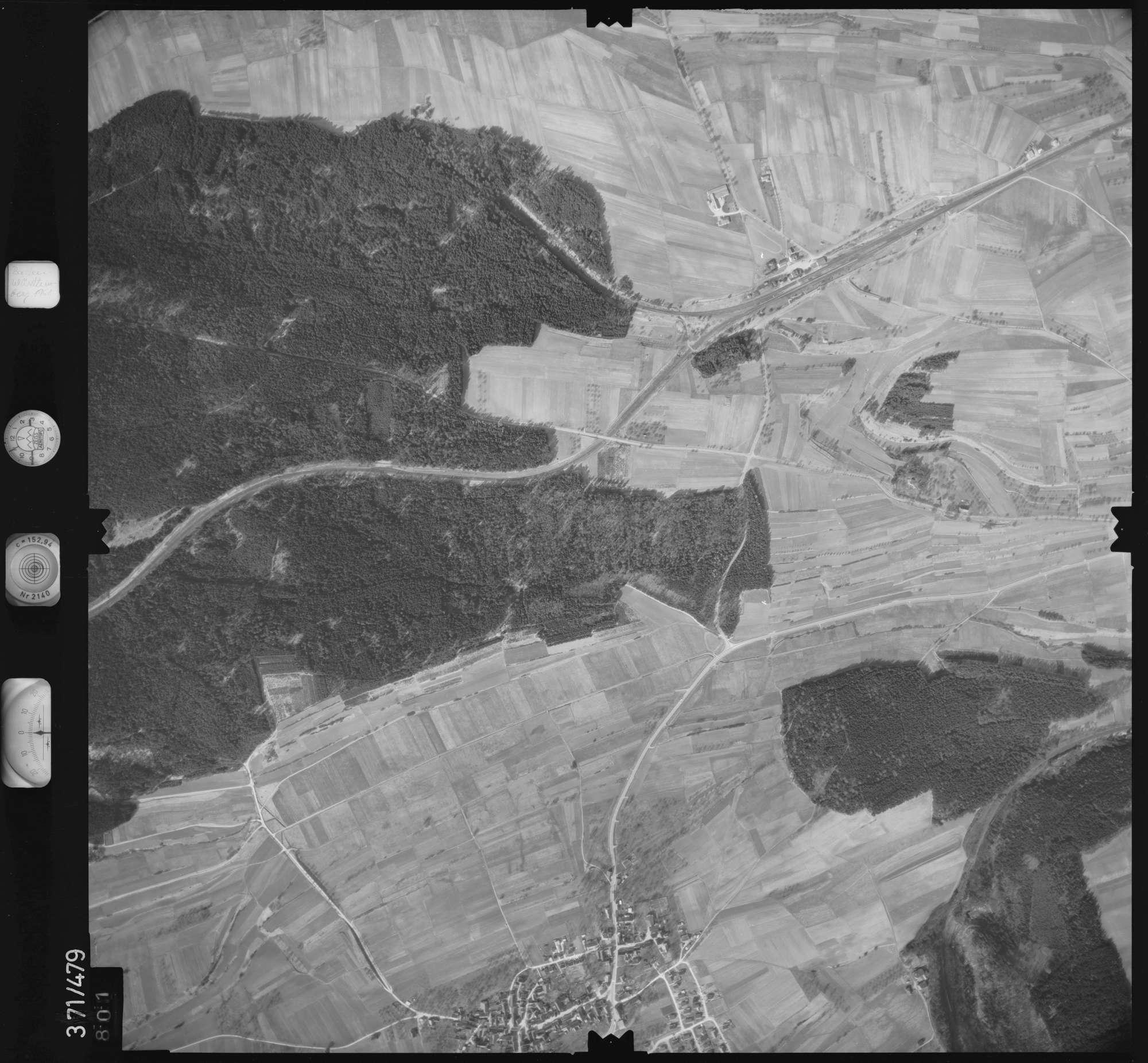 Luftbild: Film 33 Bildnr. 801, Bild 1