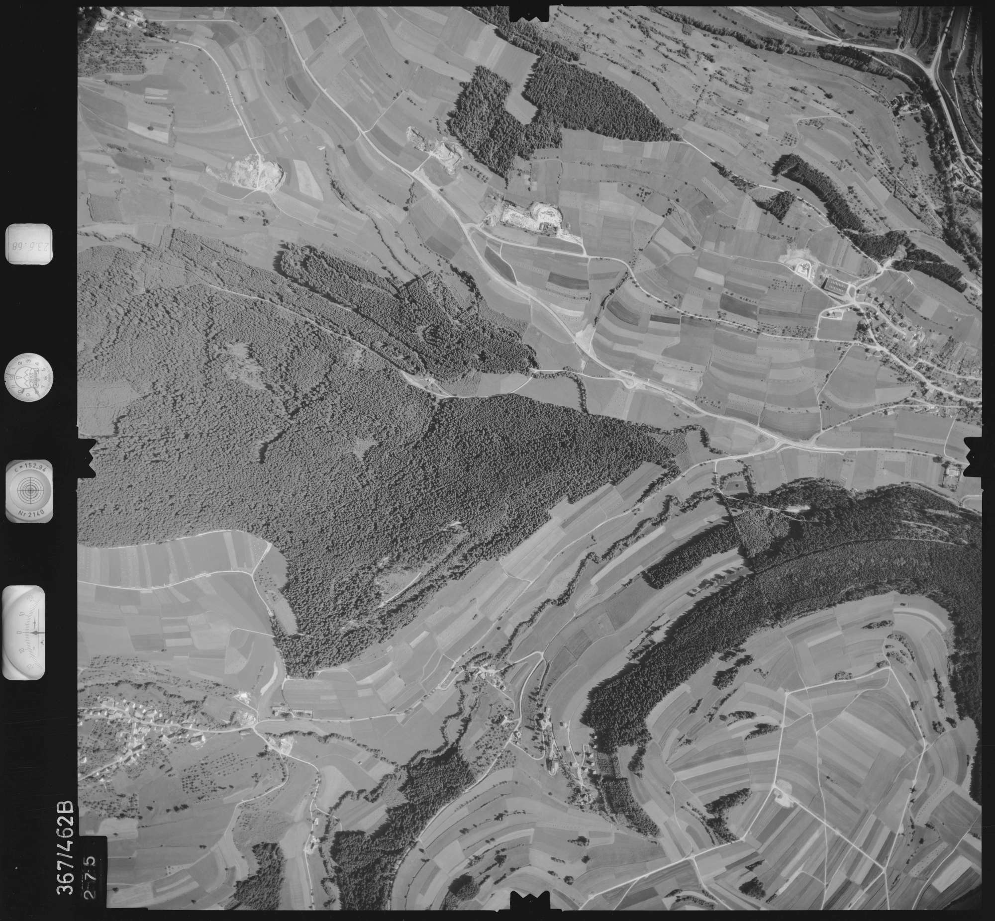 Luftbild: Film 30 Bildnr. 275, Bild 1