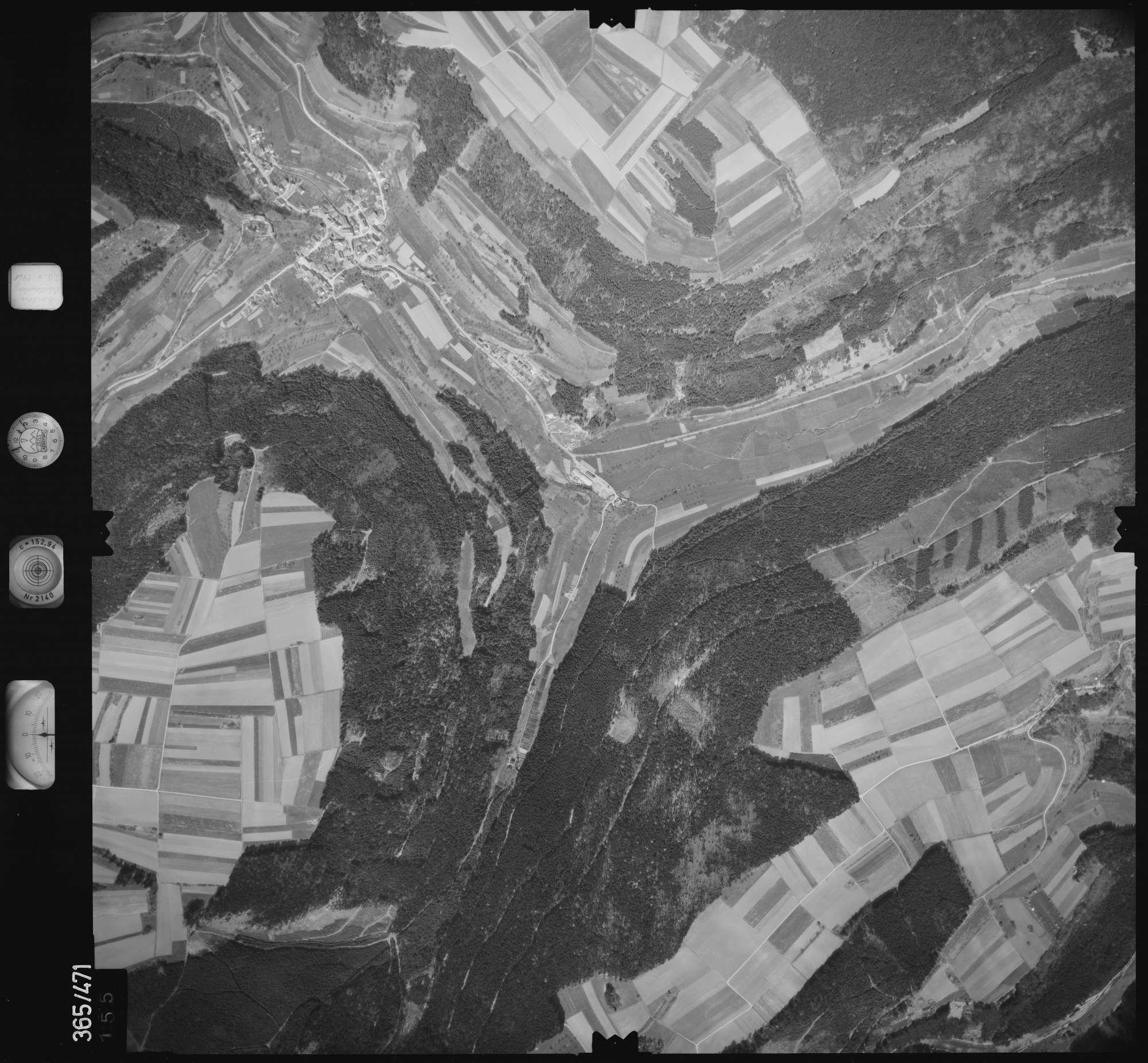 Luftbild: Film 15 Bildnr. 155, Bild 1