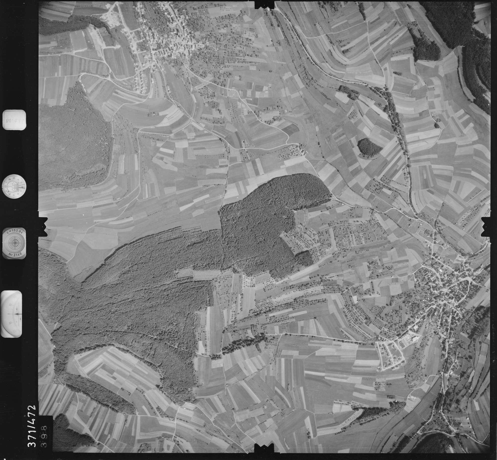Luftbild: Film 29 Bildnr. 398, Bild 1