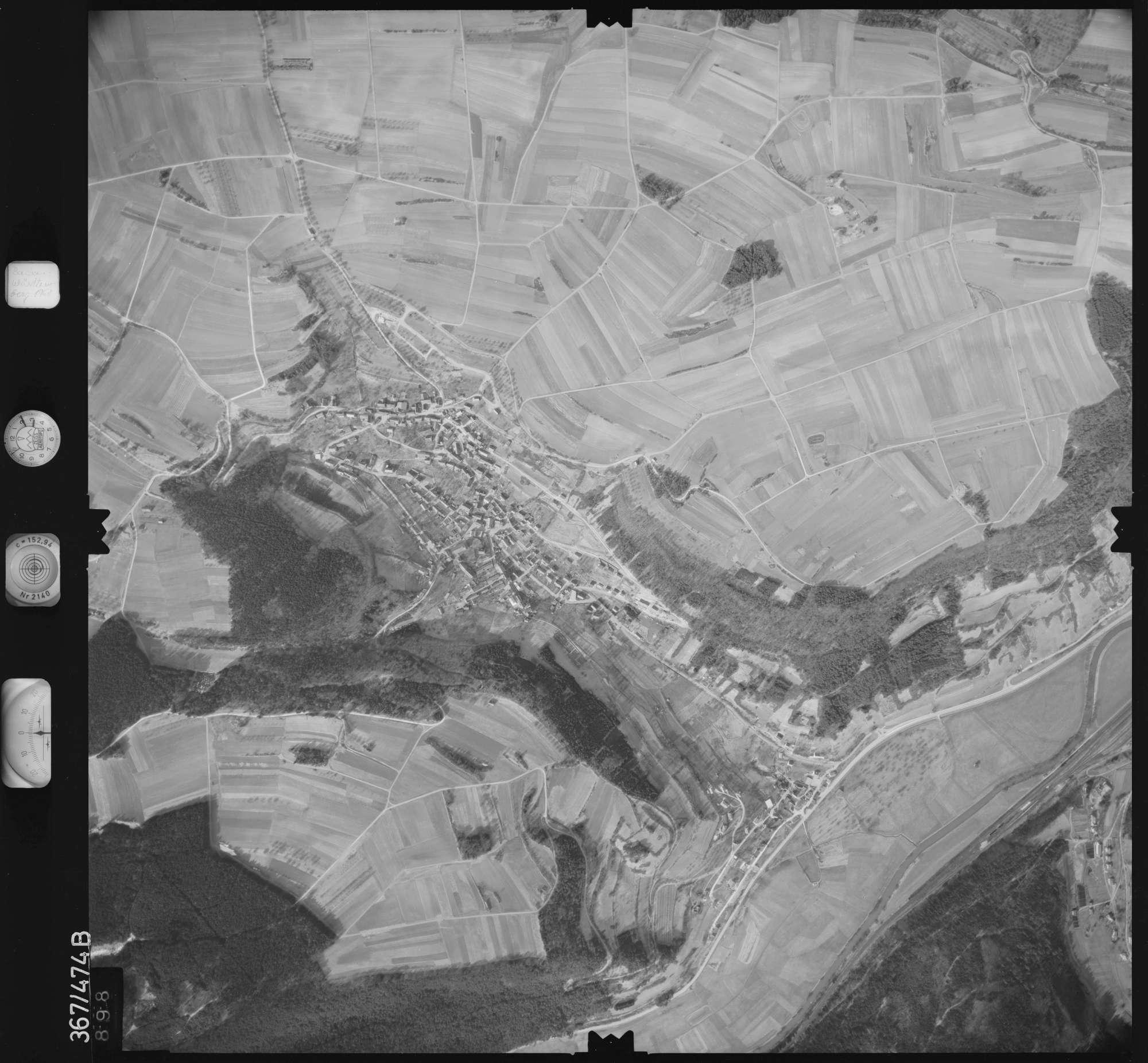 Luftbild: Film 33 Bildnr. 898, Bild 1