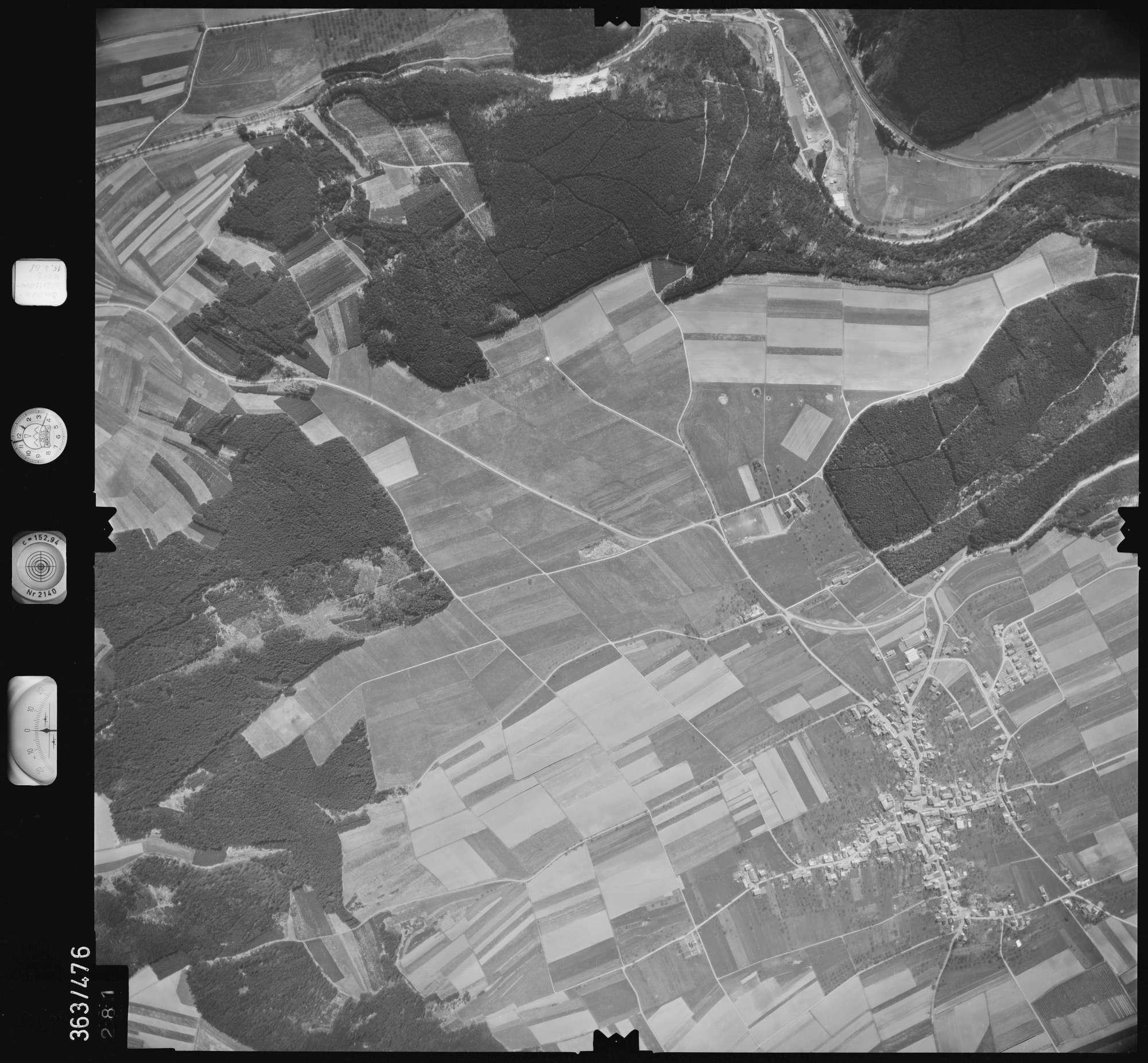 Luftbild: Film 45 Bildnr. 281, Bild 1