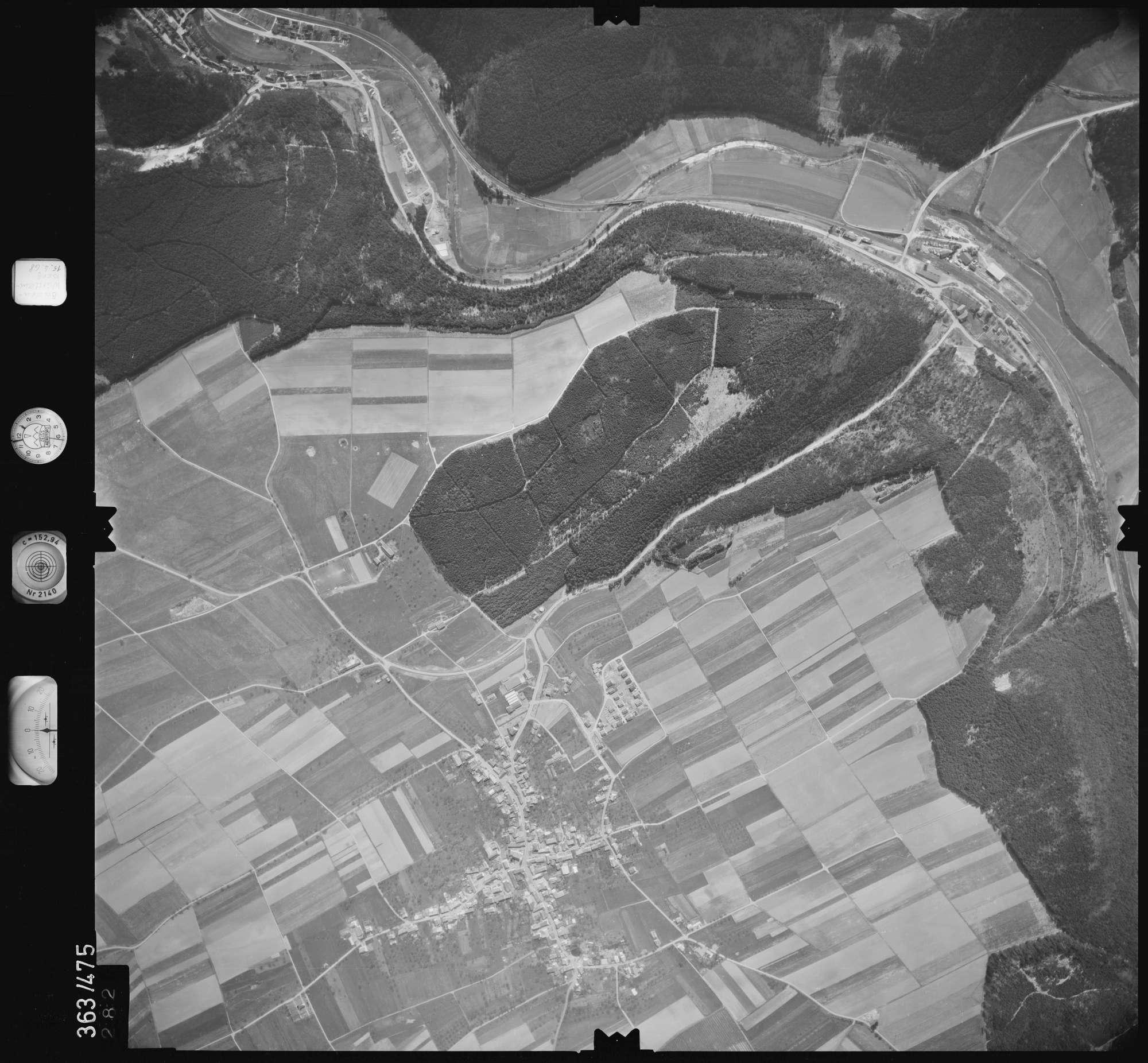 Luftbild: Film 45 Bildnr. 282, Bild 1